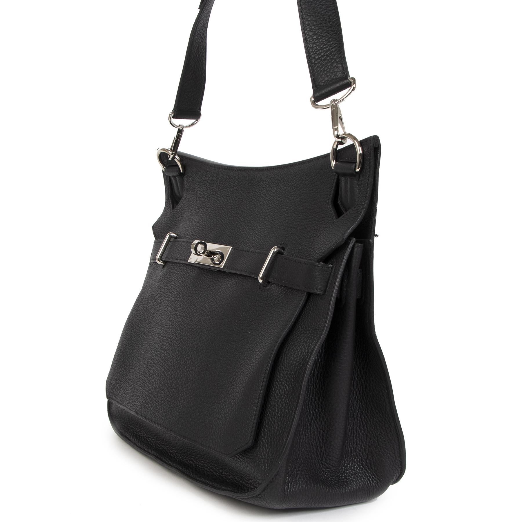 Authentic second-hand vintage Hermès Jypsiere 34 Shoulder Bag buy online webshop LabelLOV