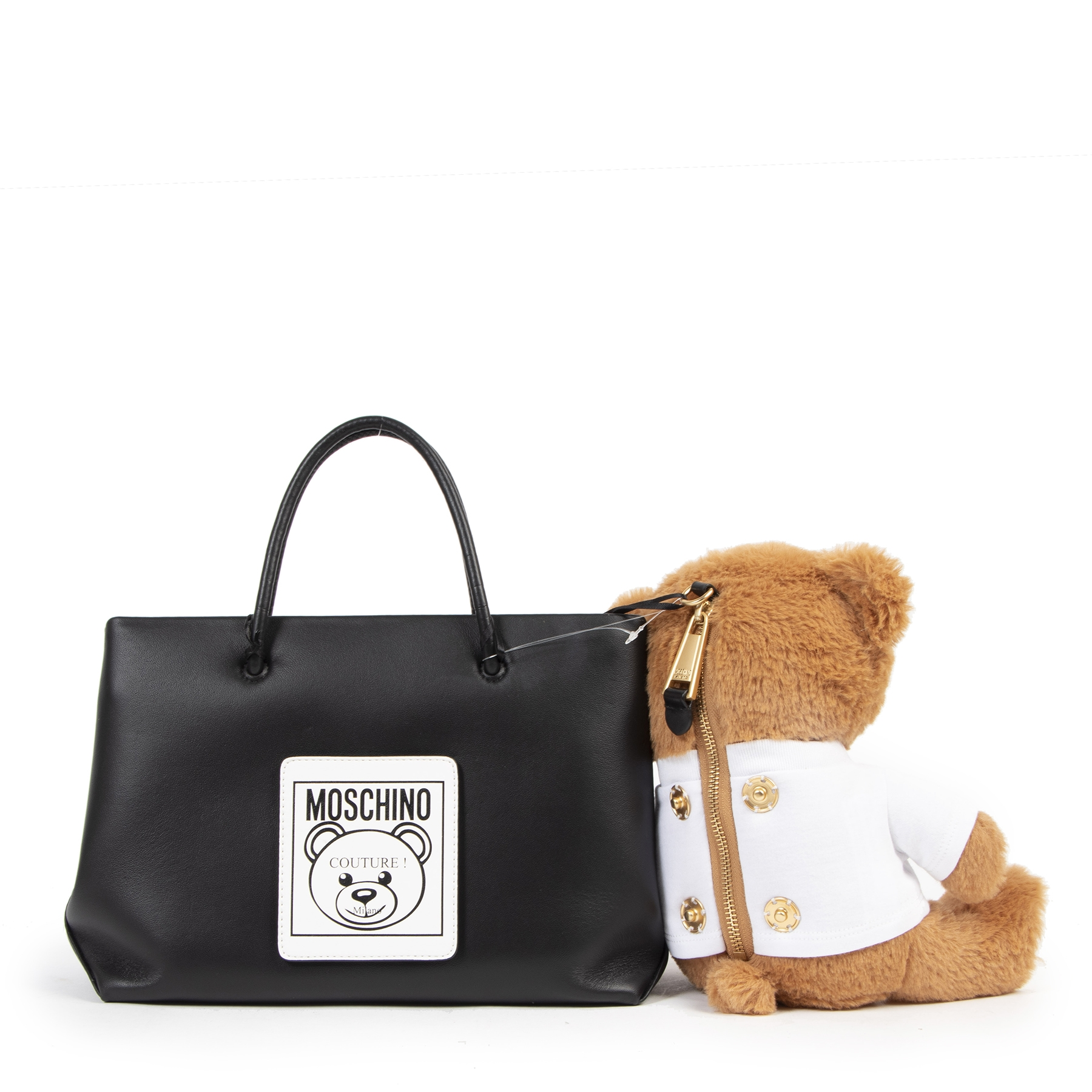 Moschino Teddy Shopping Tote Bag