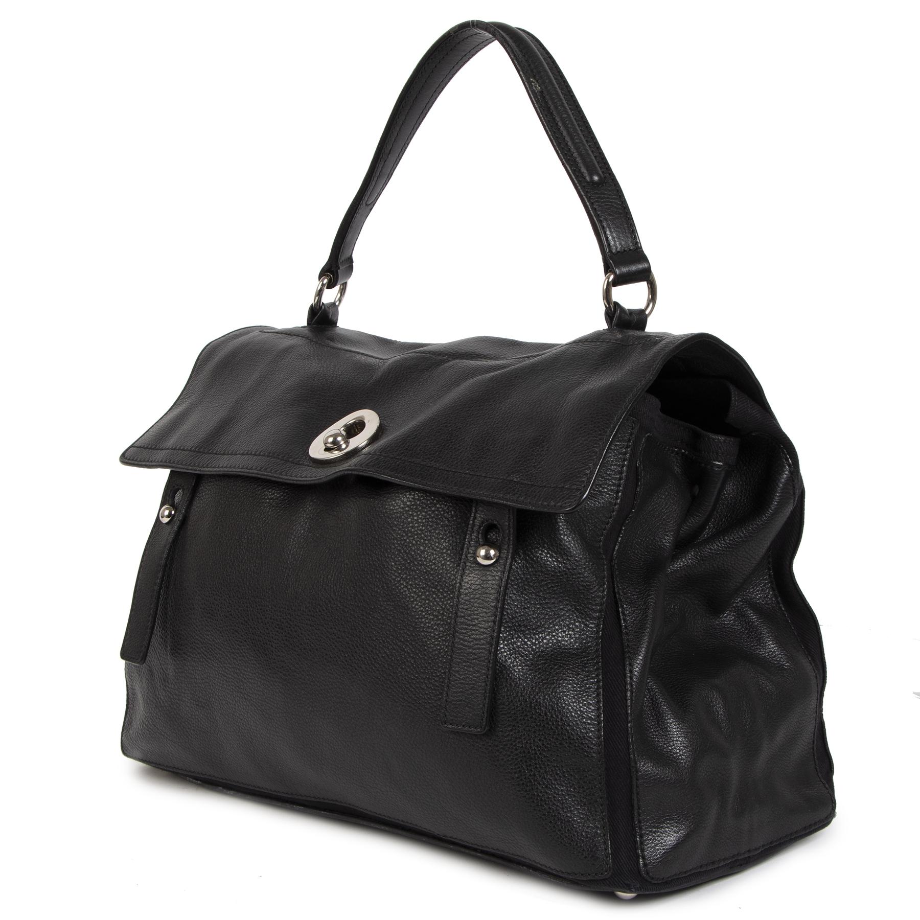 Yves Saint Laurent Muse Two Black Leather Bag pour le meilleur prix chez Labellov à Anvers