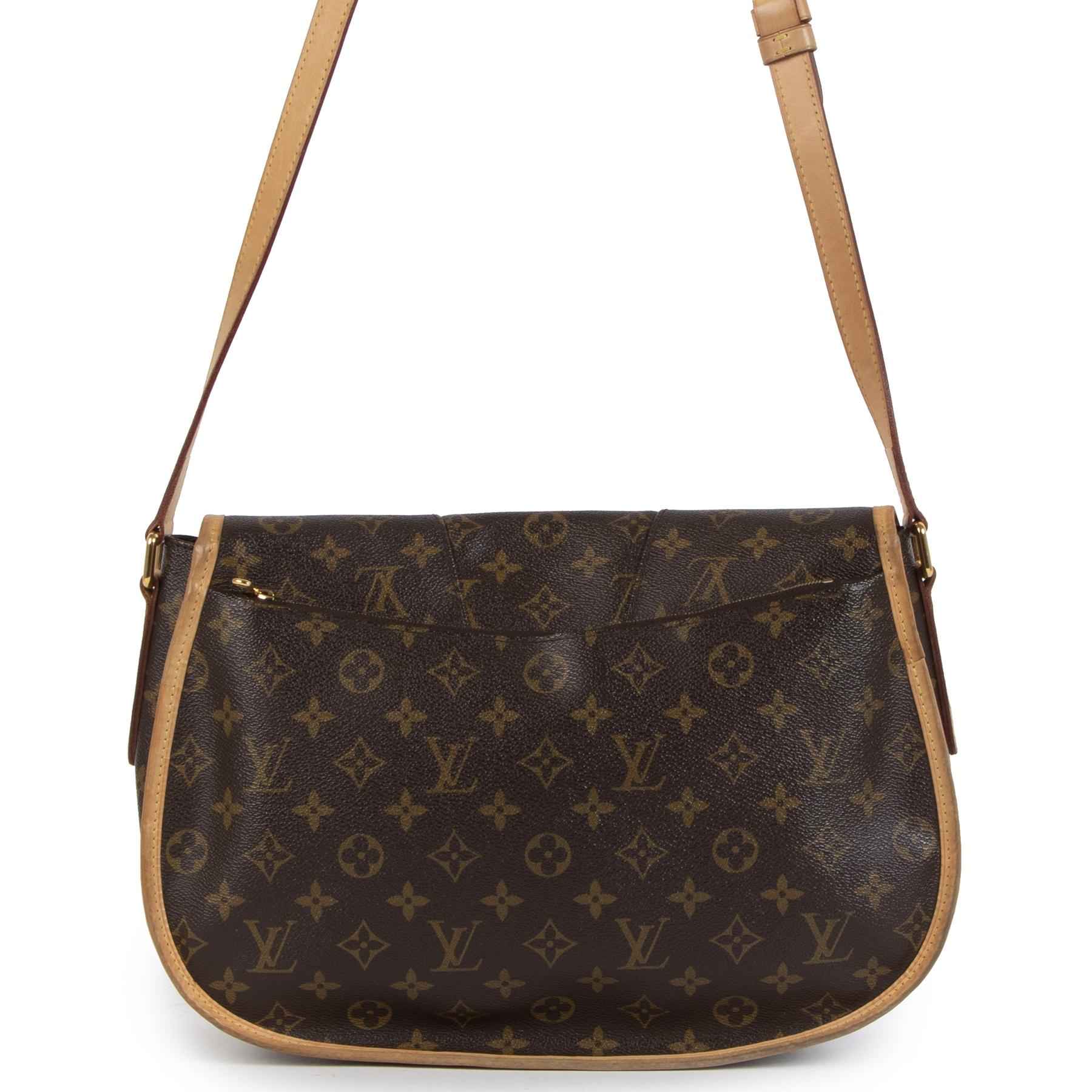 Authentic secondhand Louis Vuitton Menilmontant Monogram MM Bag designer bags accessories pumps luxury vintage webshop safe secure online shopping worldwide shipping