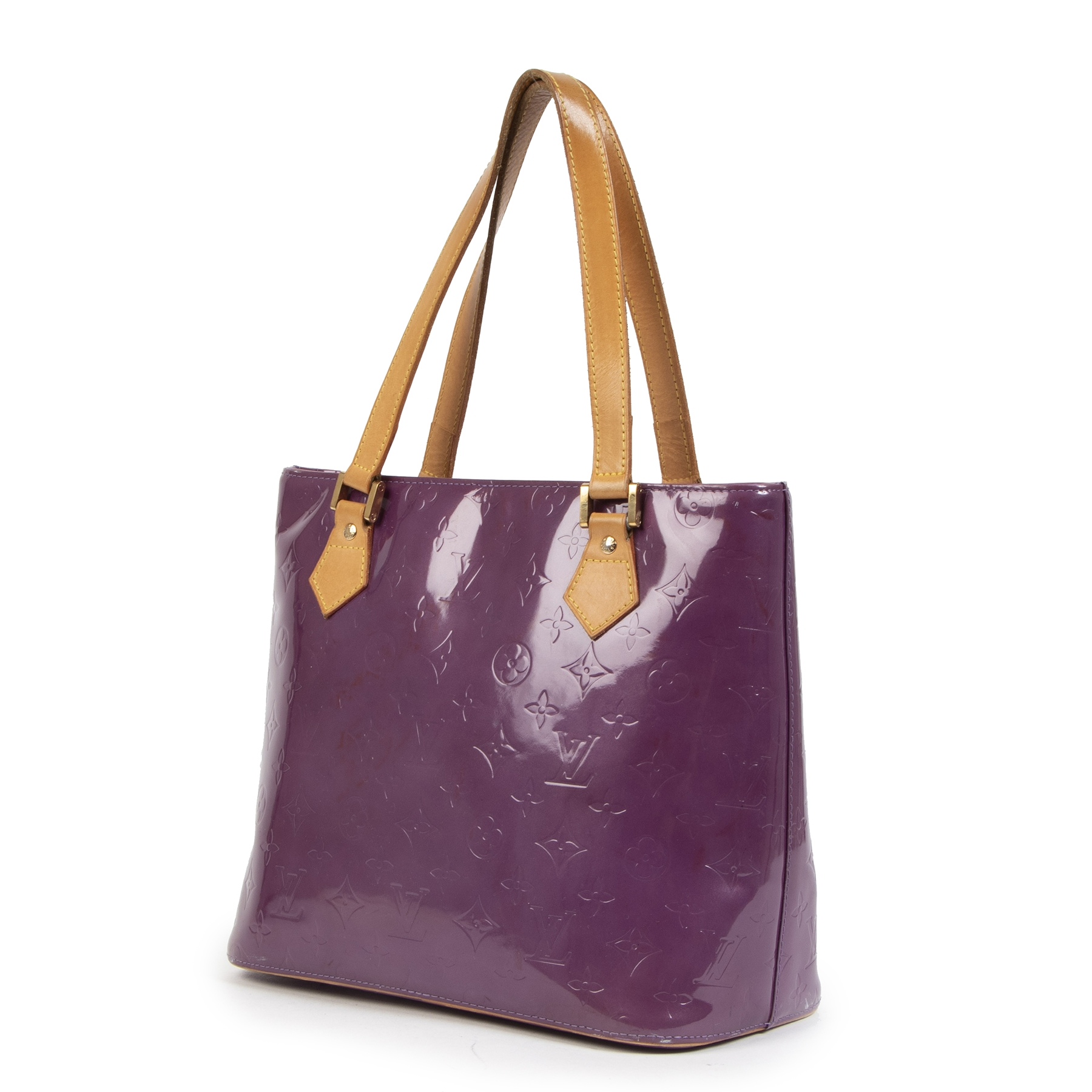 Authentic second-hand vintage Louis Vuitton Purple Houston Shoulder Bag  buy online webshop LabelLOV