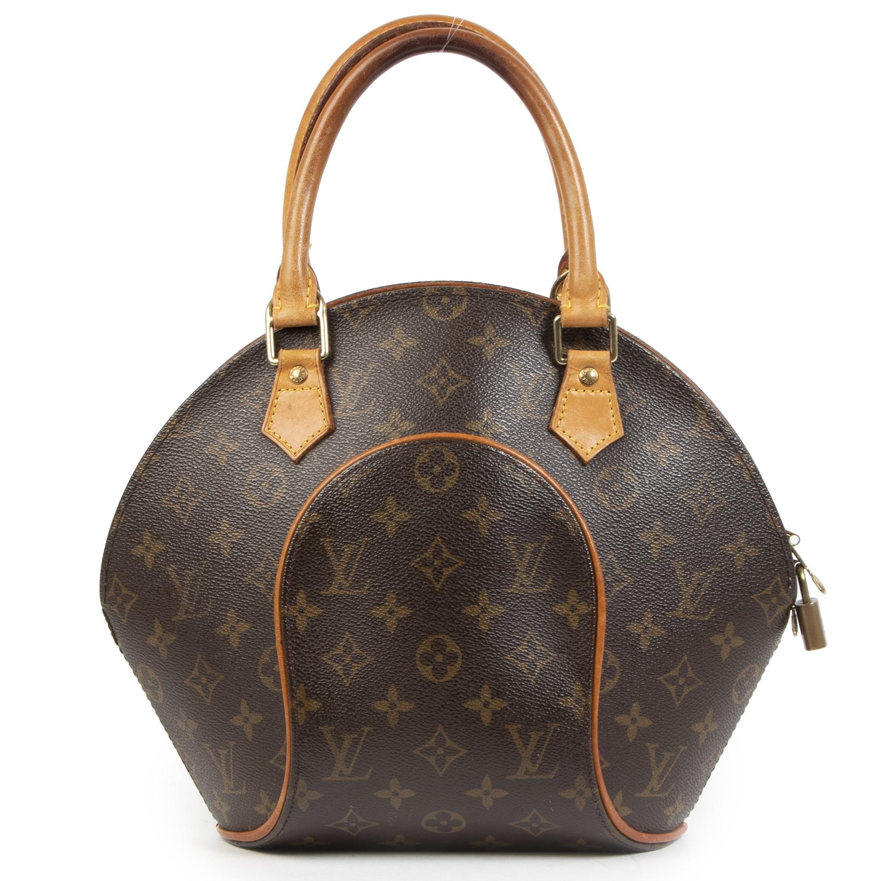Authentieke Tweedehands Louis Vuitton Monogram Ellipse PM Bag juiste prijs veilig online shoppen luxe merken webshop winkelen Antwerpen België mode fashion