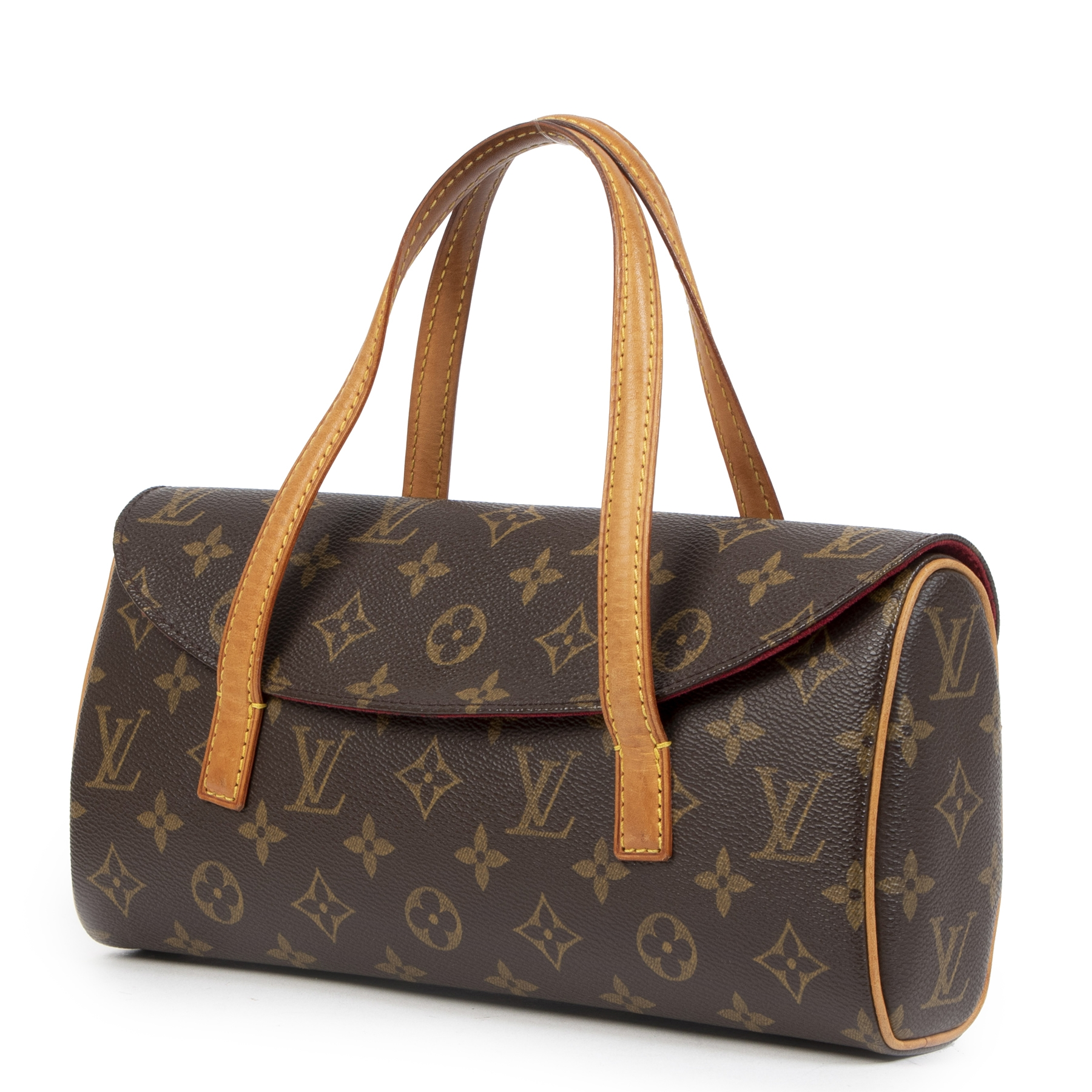 authentic second-hand vintage Louis Vuitton Monogram Sonatine Bag buy online webshop LabelLOV