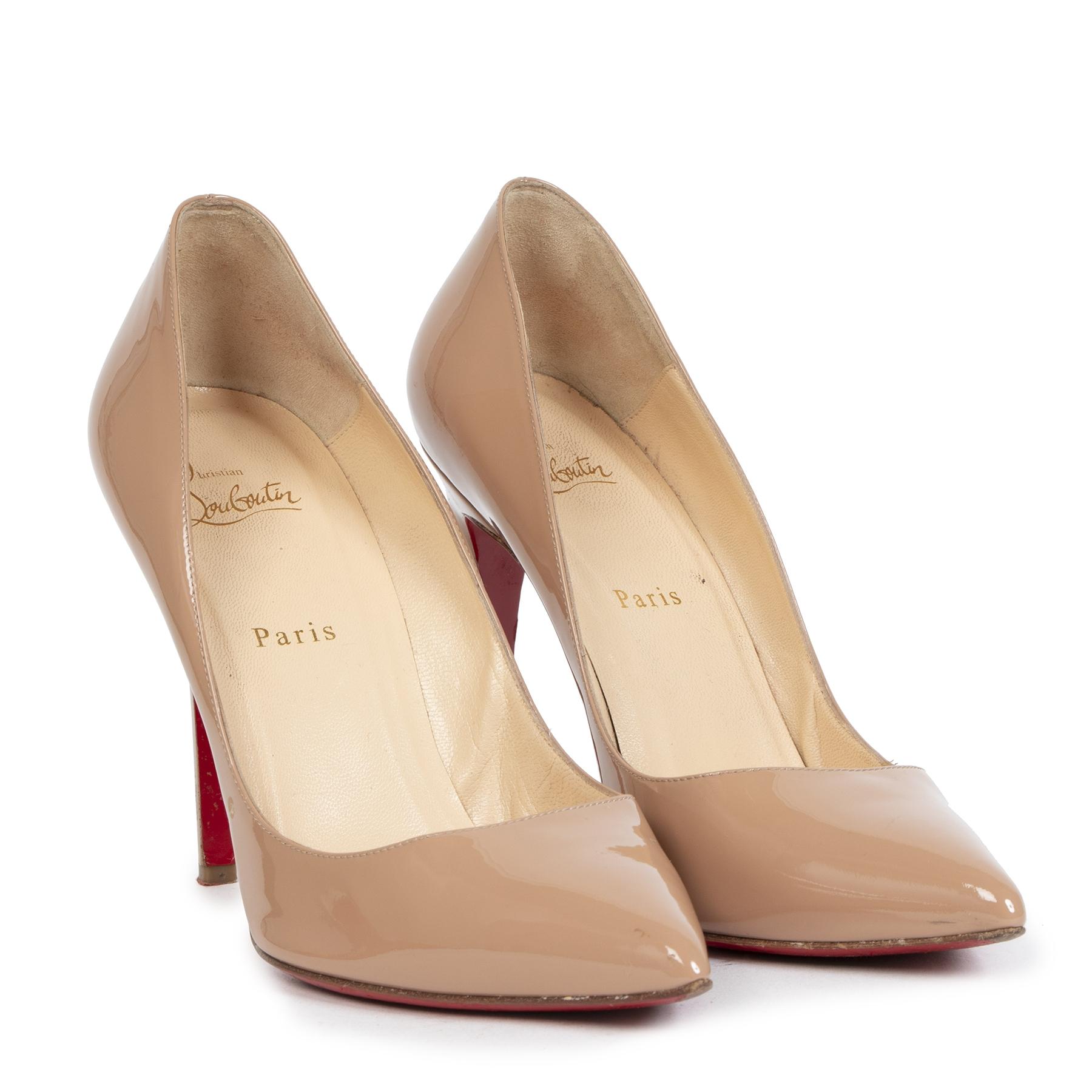 Buy authentic secondhand Christian Louboutin items online at LabelLOV for the right price, shop safe and secure online.