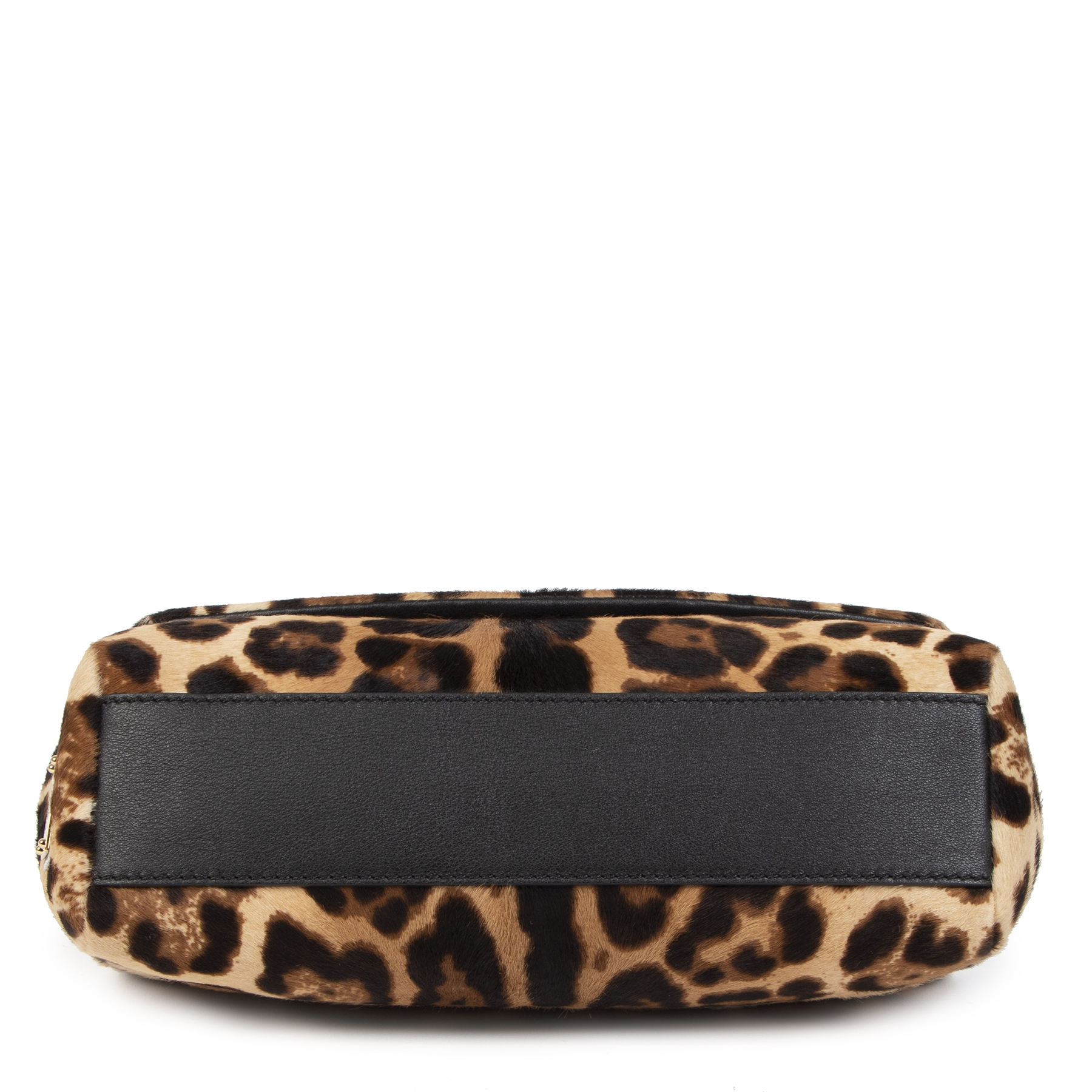 Dolce & Gabbana Leopard Top Handle Bag