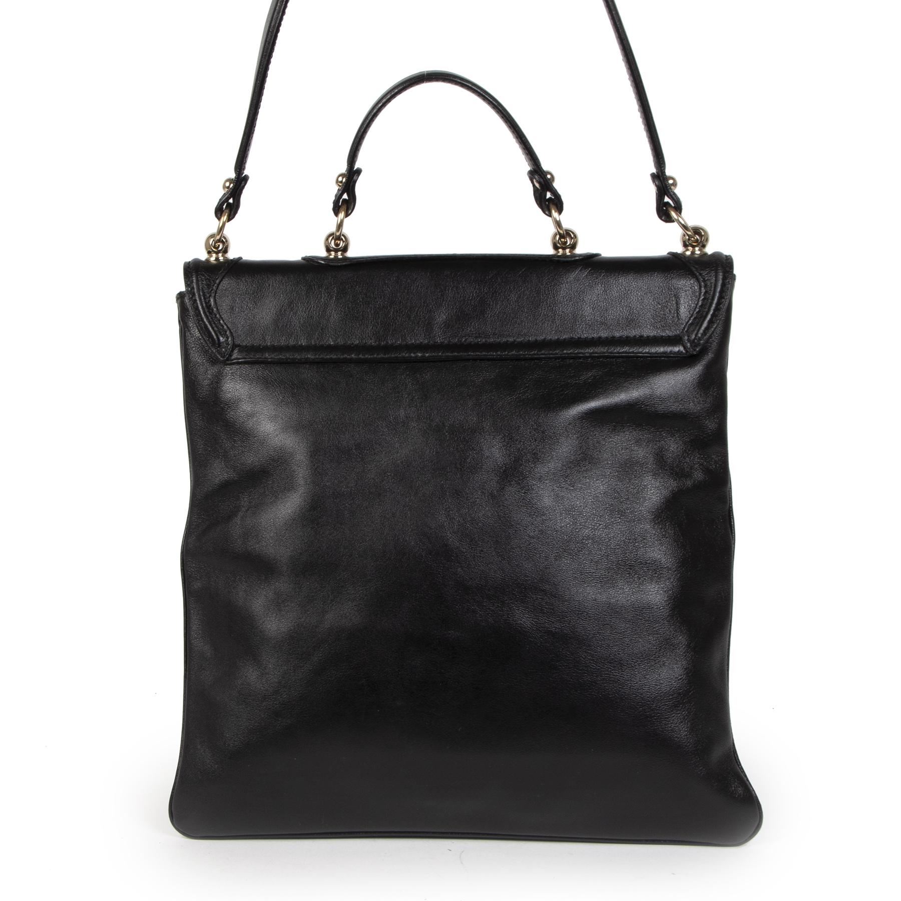 Authentieke tweedehands vintage Gucci Britt Messenger Bag koop online webshop LabelLOV