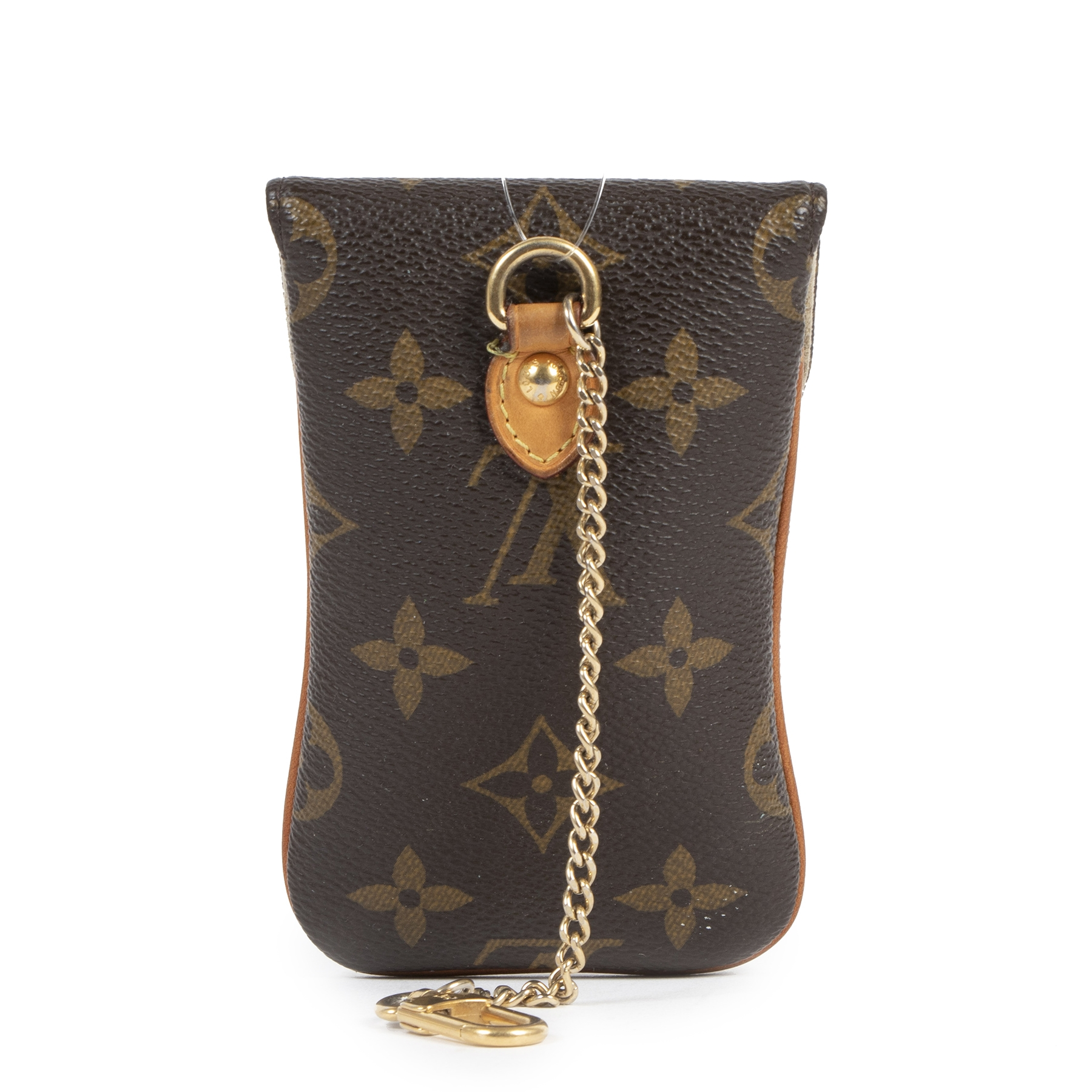Authentic secondhand Louis Vuitton Monogram Phone Holder designer bags designer brands fashion luxury vintage webshop