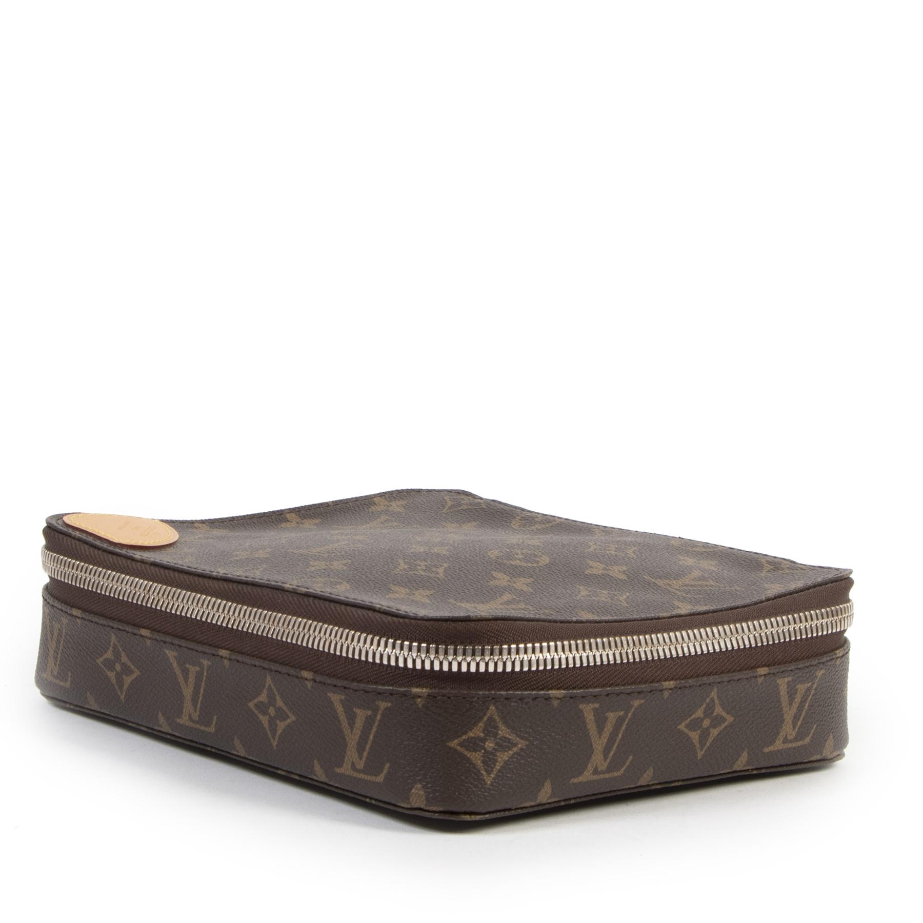 Authentieke Tweedehands Louis Vuitton Monogram Trousse Toiletry Bag juiste prijs veilig online shoppen luxe merken webshop winkelen Antwerpen België mode fashion
