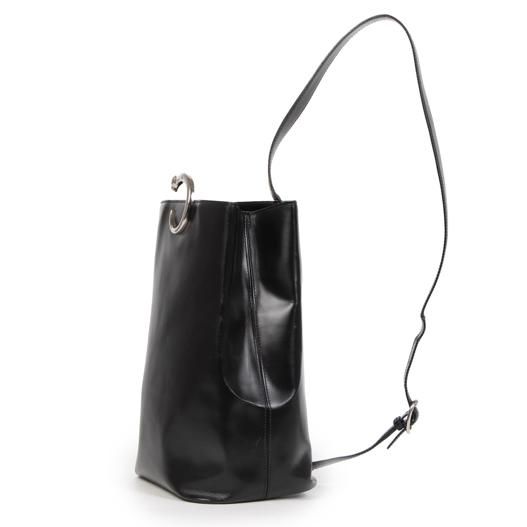 Cartier Black Panthère Sling Bag pour le meilleur prix chez Labellov à Anvers