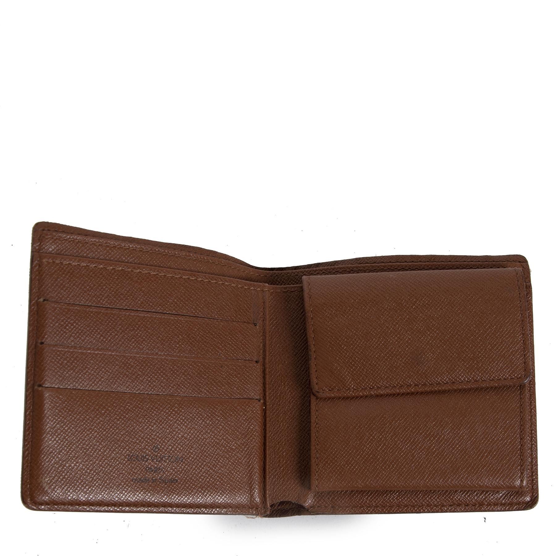 Authentieke tweedehands vintage Louis Vuitton Monogram Multiple Wallet koop online webshop LabelLOV
