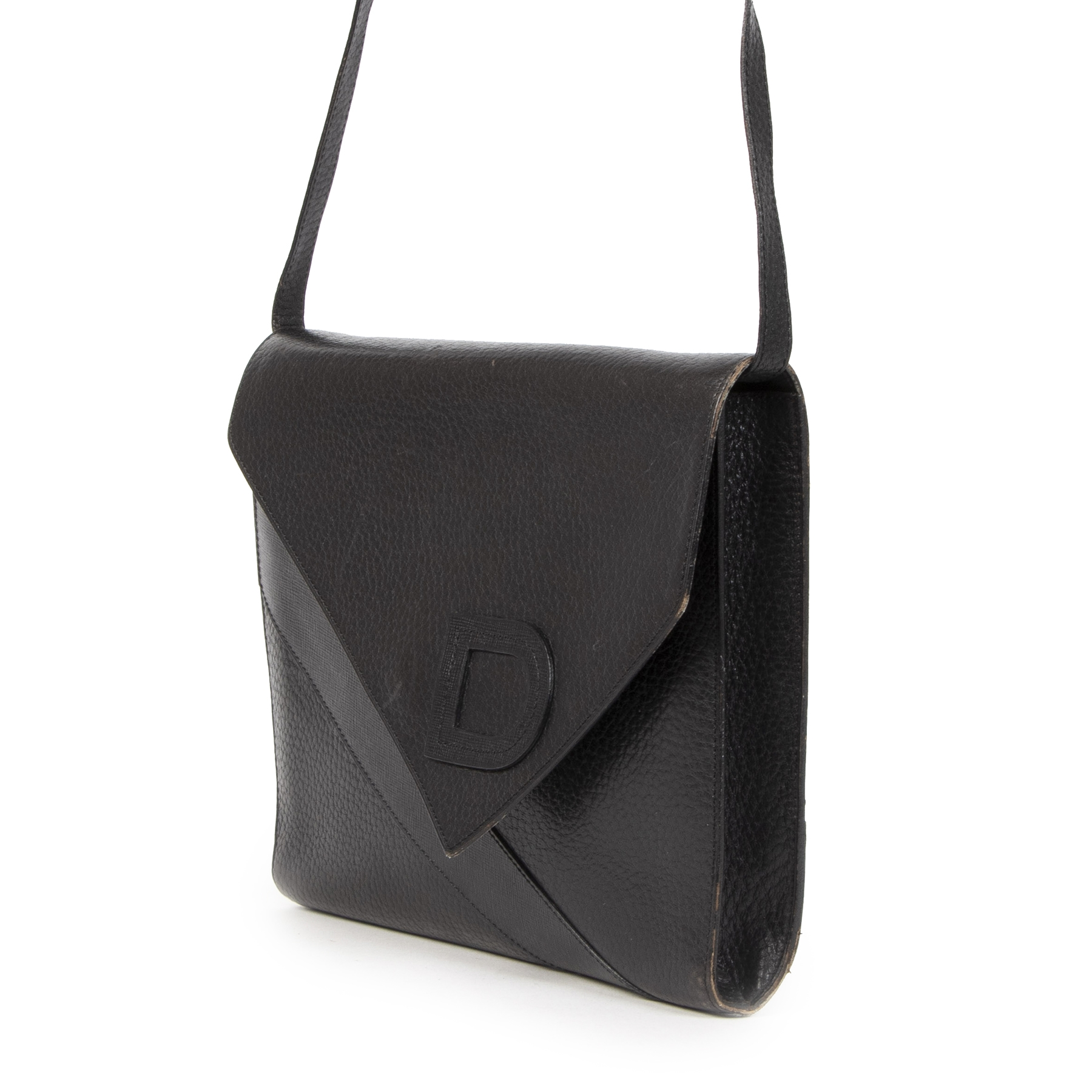 Delvaux Vintage Black Shoulder Bag