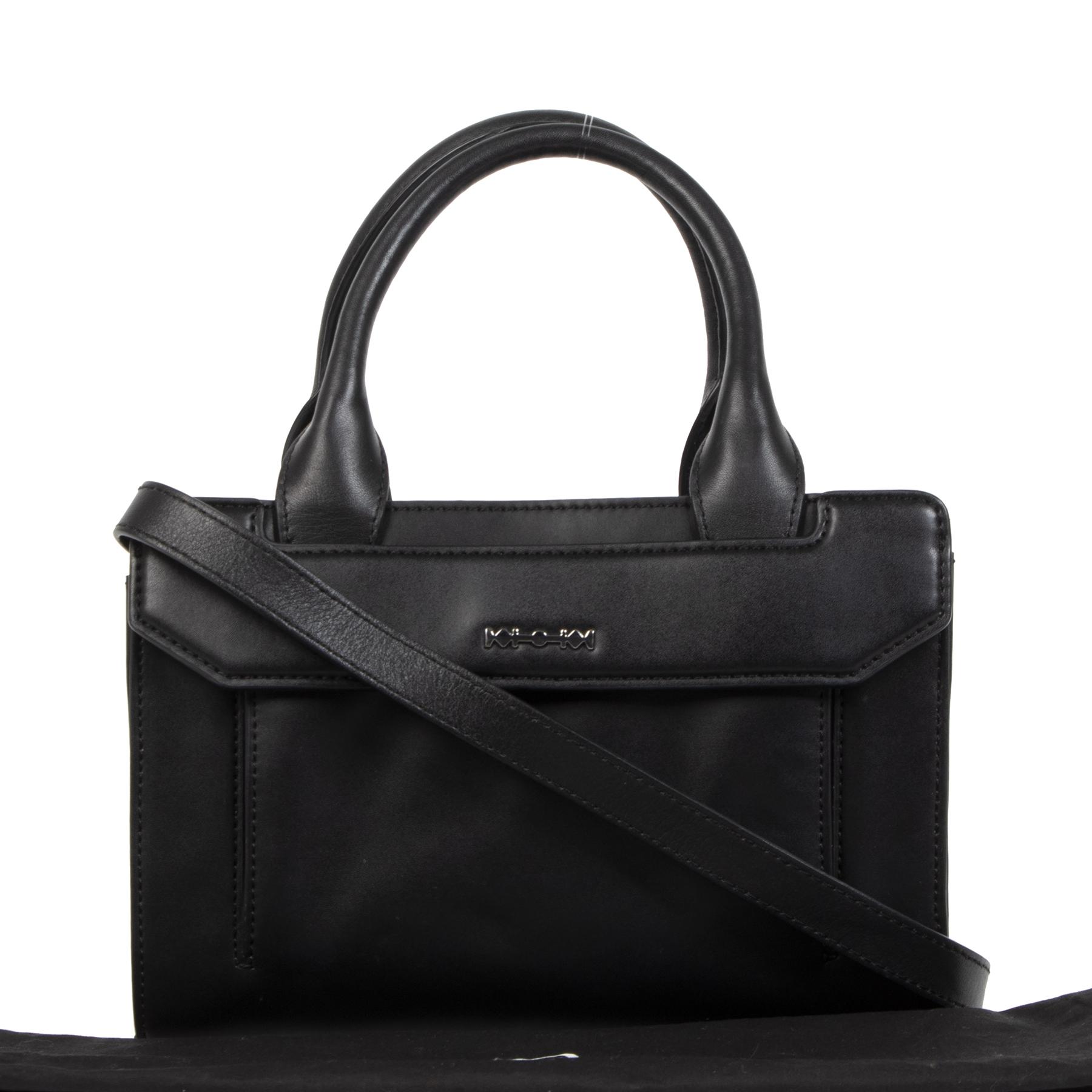 Alexander McQueen Black Leather Mini Addict Bag aan de beste prijs online te koop
