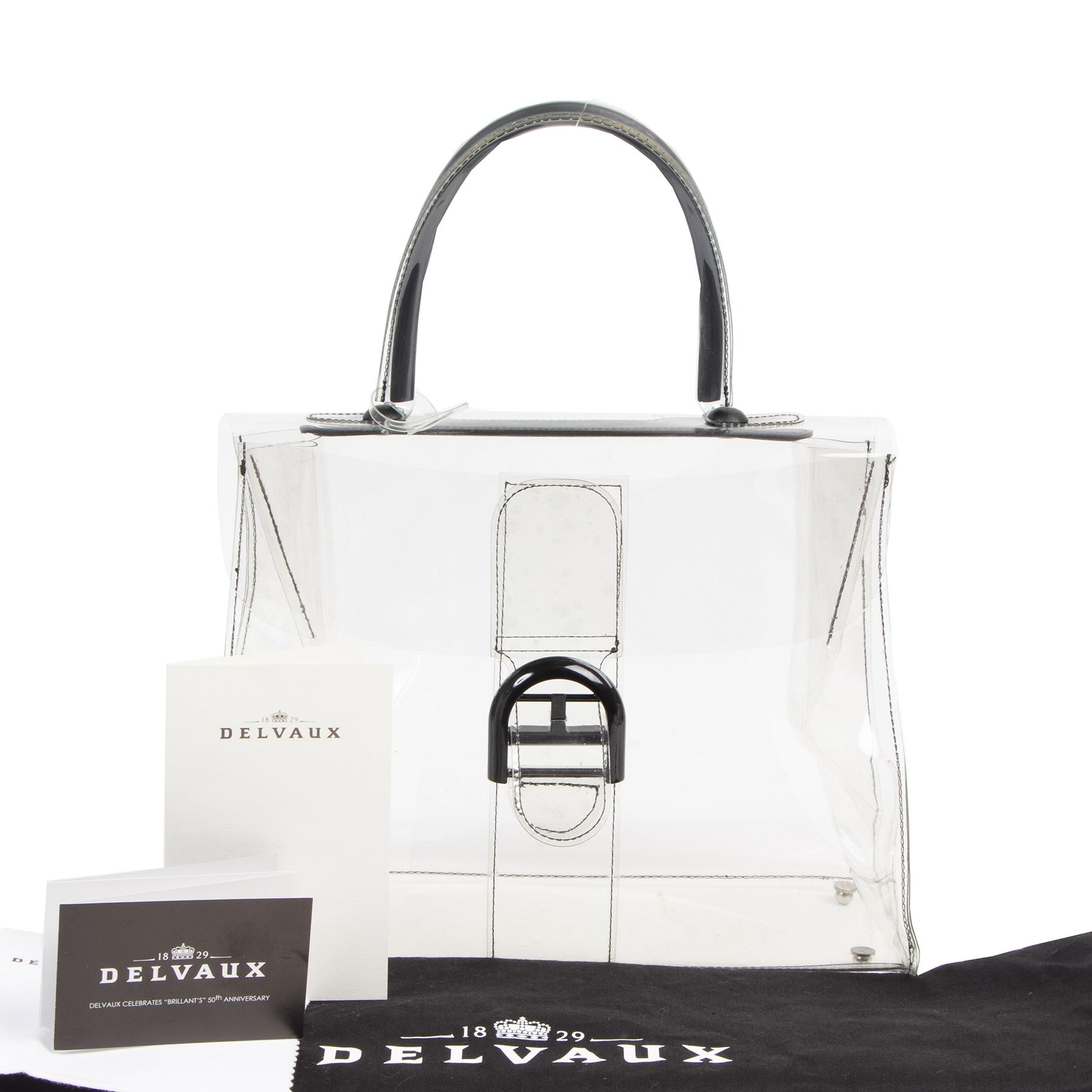 koop online tegen de beste prijs Delvaux Brillant Noces D'or Bag
