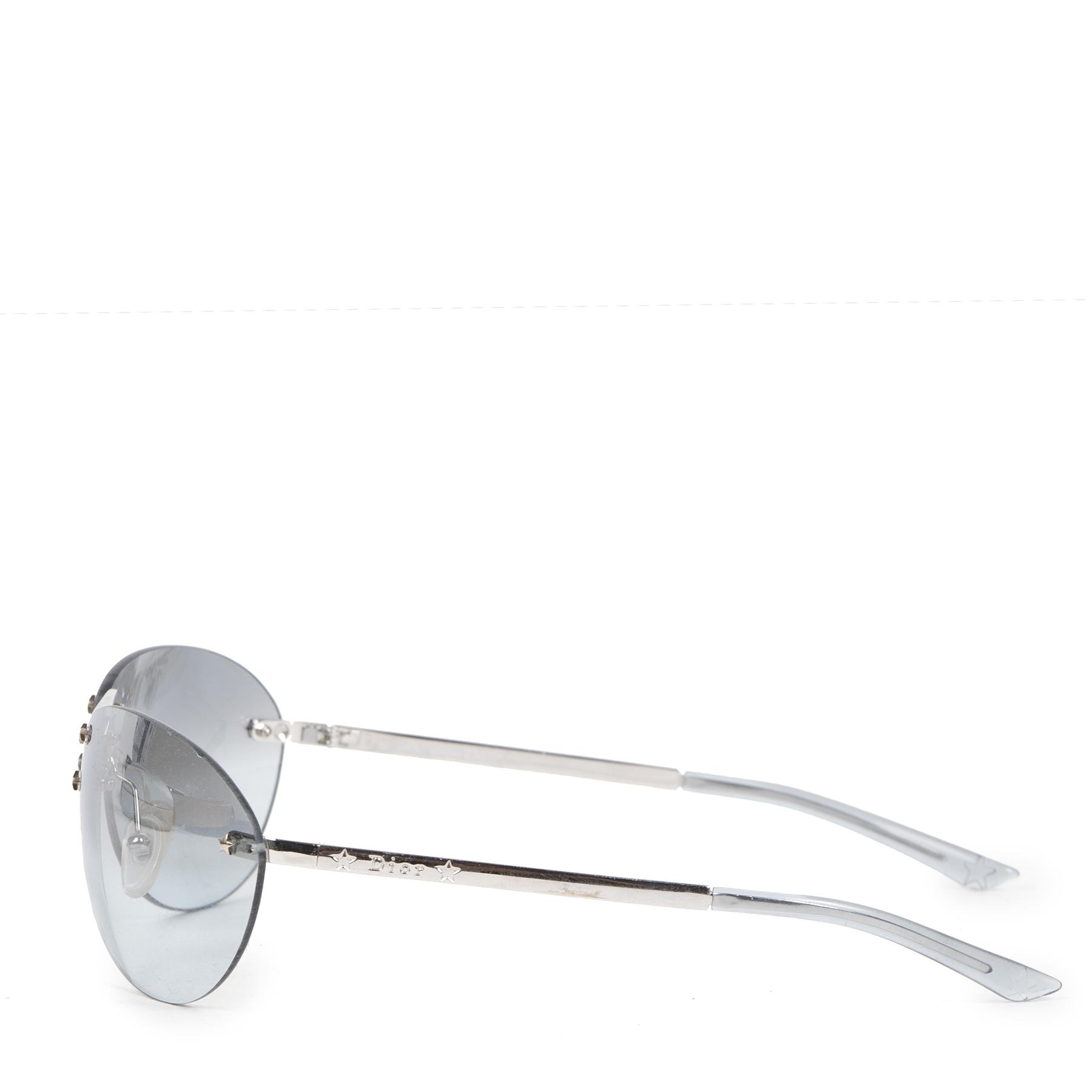 Authentieke Tweedehands Dior Starlight Sunglasses juiste prijs veilig online shoppen luxe merken webshop winkelen Antwerpen België mode fashion