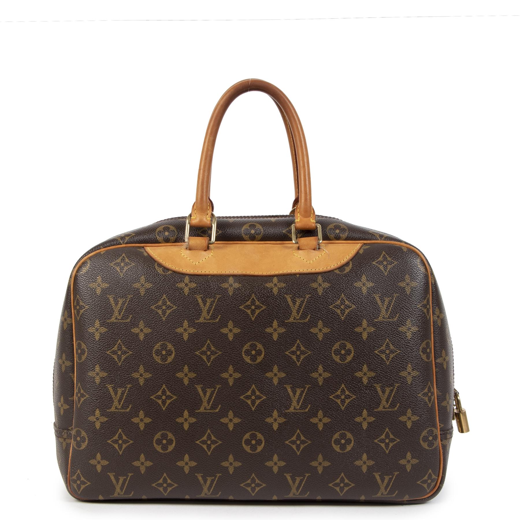 Authentic secondhand Louis Vuitton Trouville Monogram Bag designer bags designer brands fashion luxury vintage webshop safe secure online shopping worldwide shipping