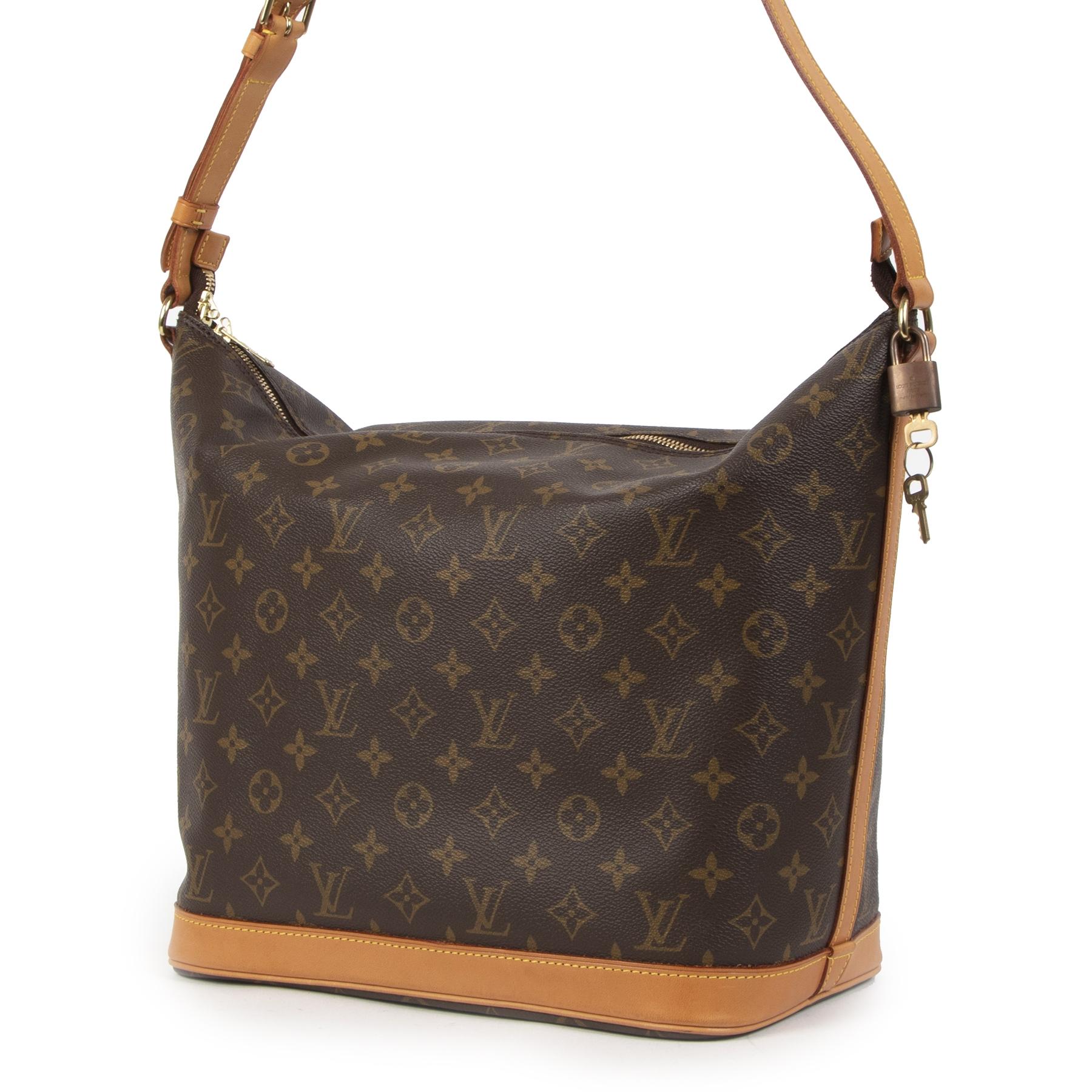 Authentieke Tweedehands Louis Vuitton Monogram Limited Edition Sharon Stone Amfar Bag juiste prijs veilig online shoppen luxe merken webshop winkelen Antwerpen België mode fashion