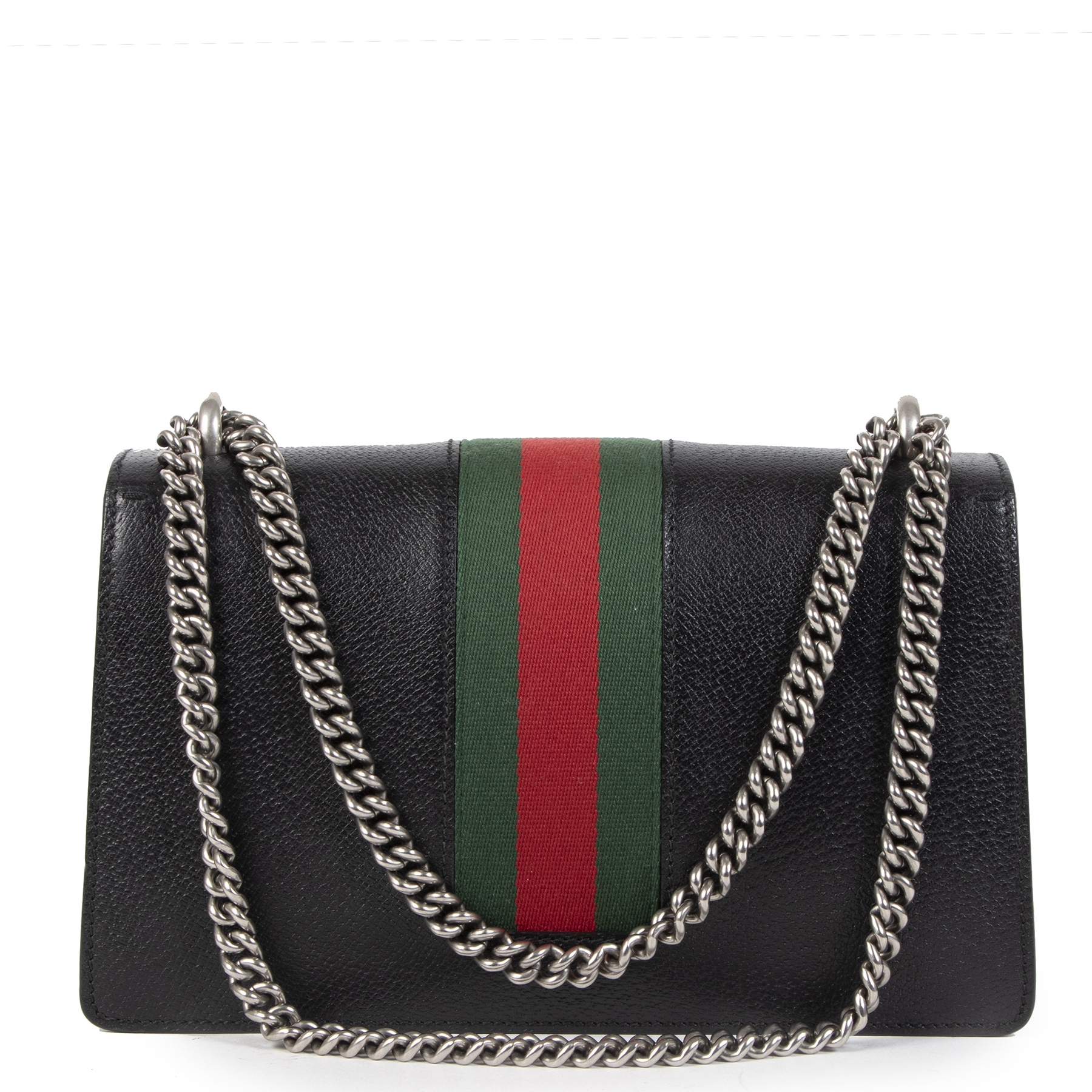 Buy authentic secondhand Gucci Dyonisus Web Black Shoulder Bag at the right price safe and secure online at LabelLOV webshop Antwerp Belgium