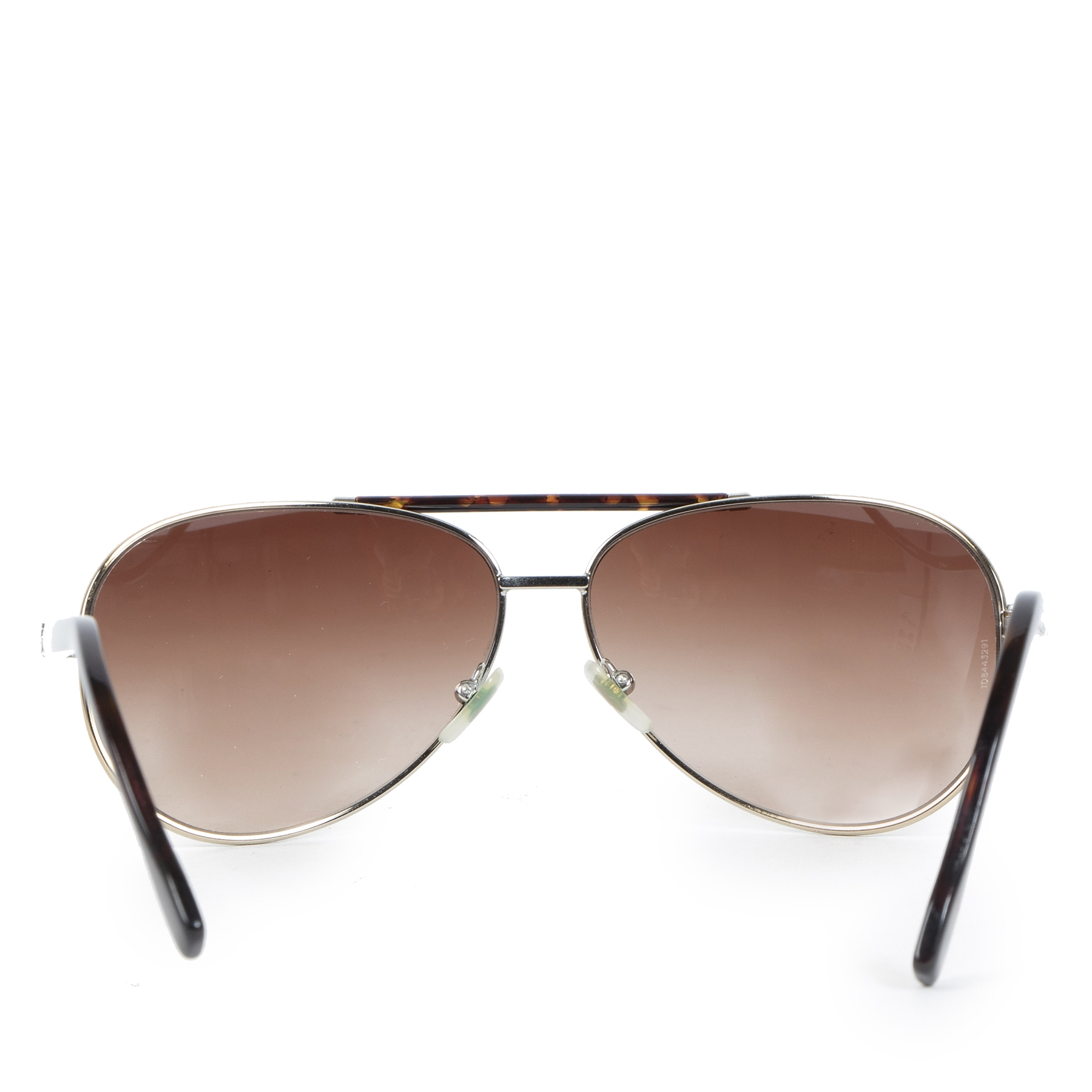 Authentic secondhand Dolce & Gabbana Brown Gradient Aviator Sunglasses designer accessories fashion luxury vintage webshop safe secure online shopping worldwide shipping