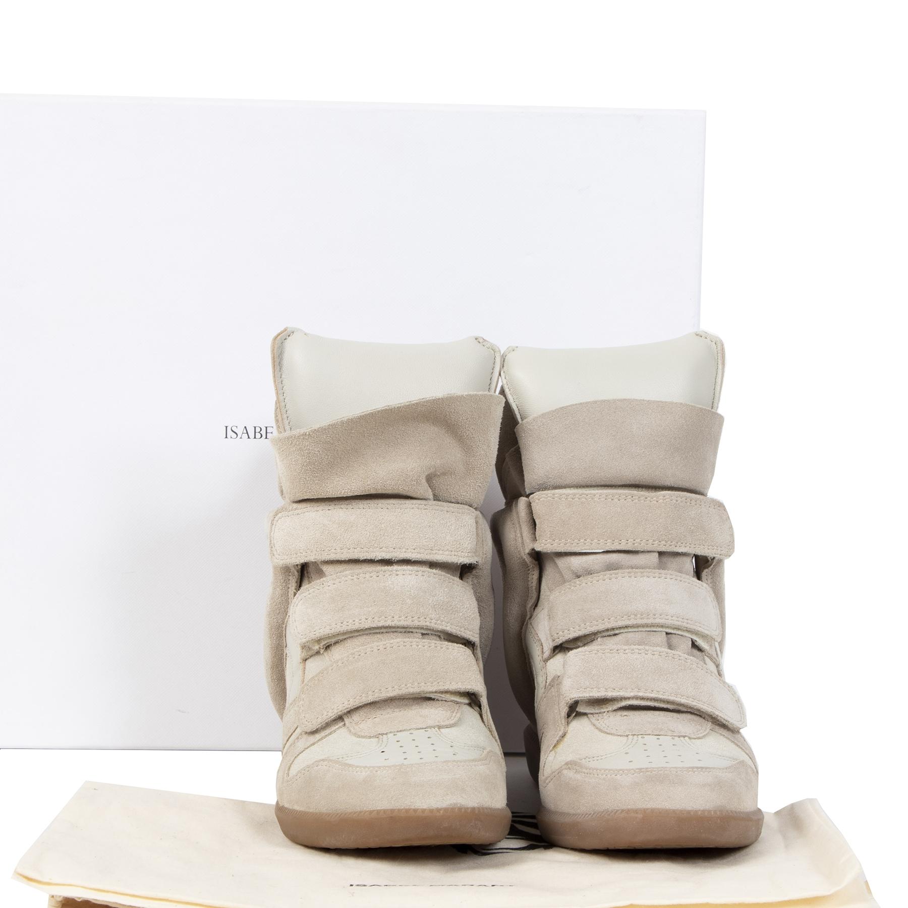 Koop authentieke tweedehands Isabel Marant schoenen voor de juiste prijs bij LabelLOV