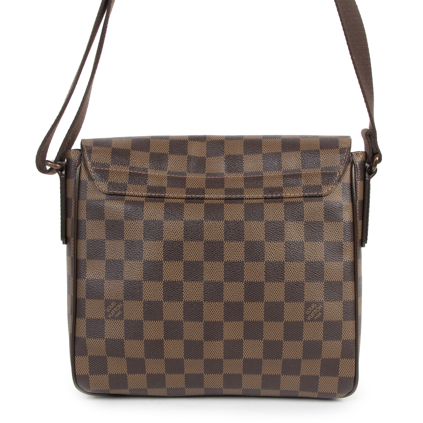 Authentic secondhand Louis Vuitton Damier Ebene District Pm Crossbody Bag designer bags fashion luxury vintage webshop safe secure online shopping