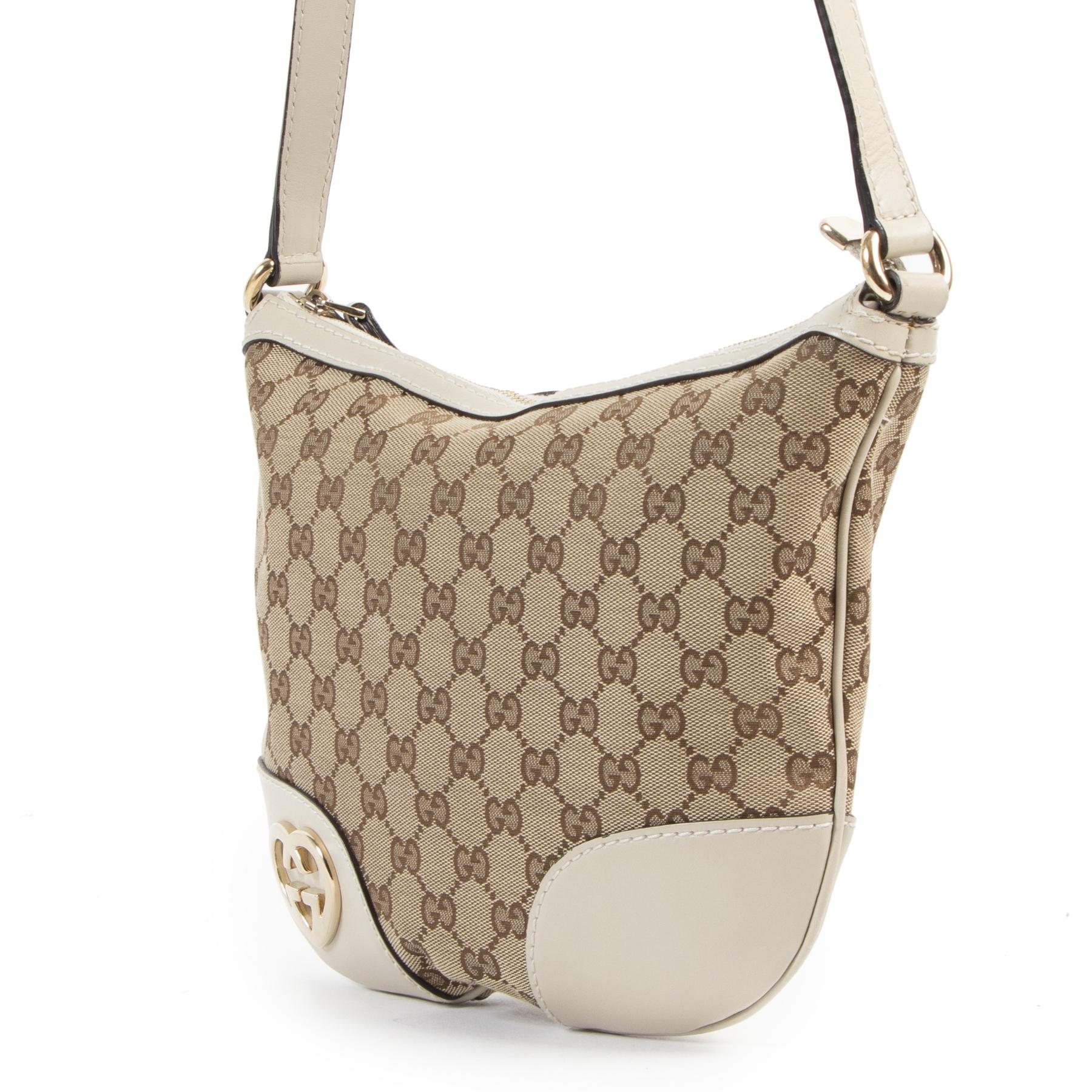 Gucci Monogram Crossbody Bag kopen en verkopen aan de beste prijs