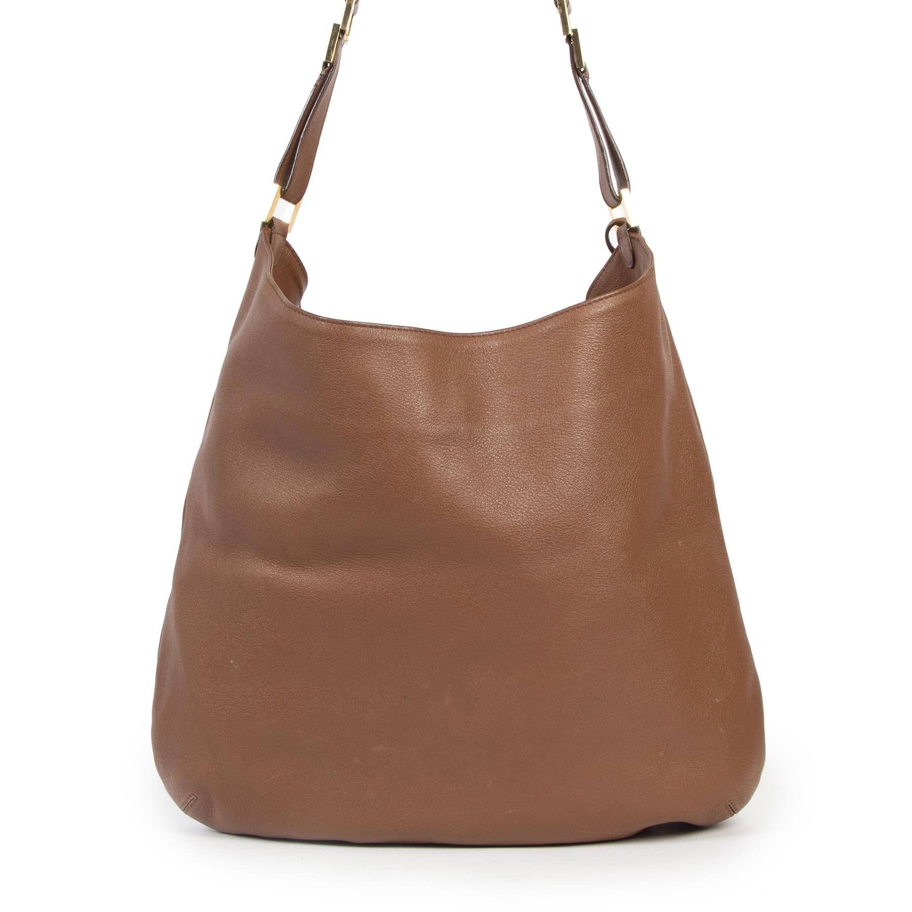Delvaux Fauve Louise GM Shoulder Bag te koop aan de beste prijs bij Labellov tweedehands luxe