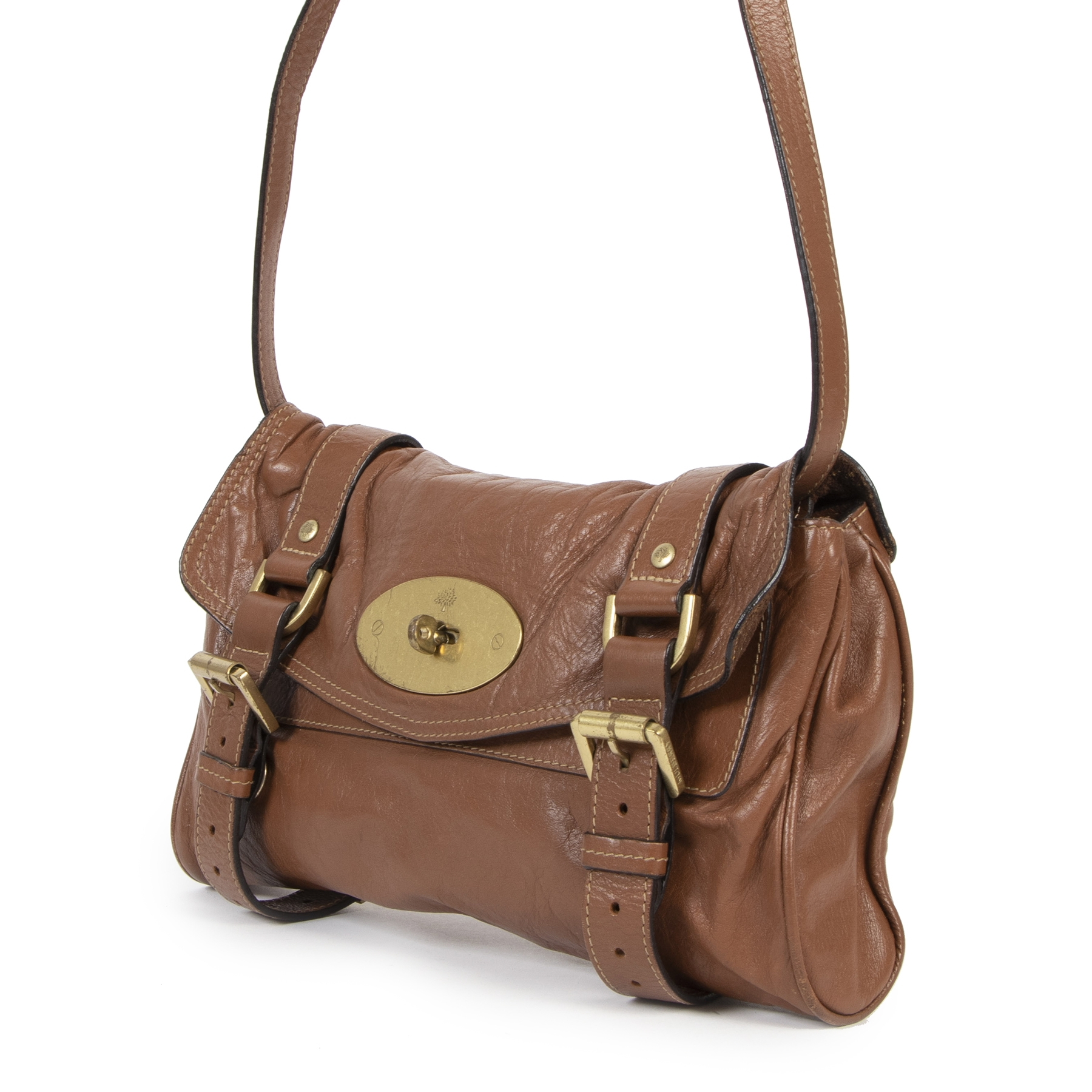 Authentic second-hand vintage Mulberry Small Alexa Crossbody Bag buy online webshop LabelLOV