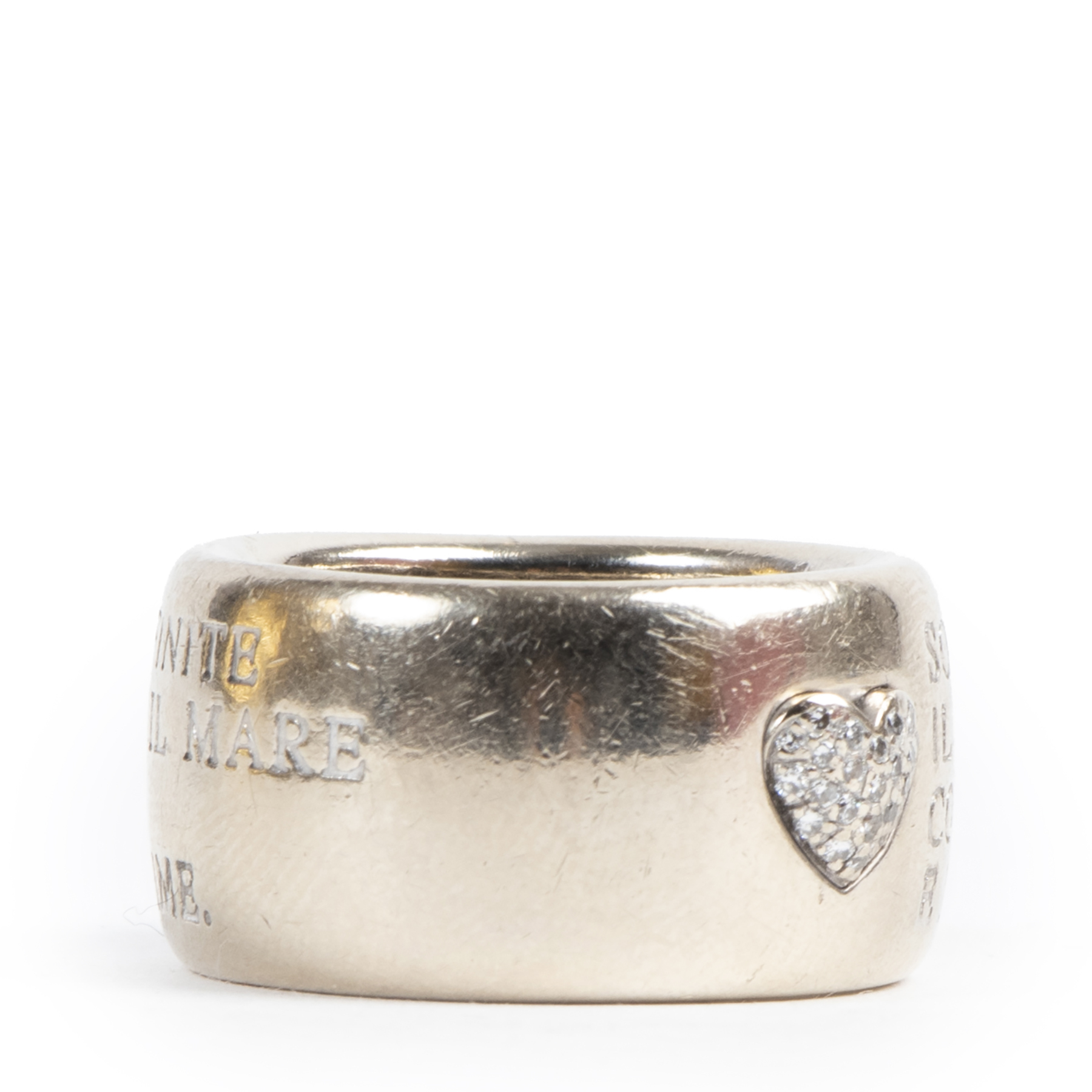 Pasquale Bruni Silver 'Amor' Ring