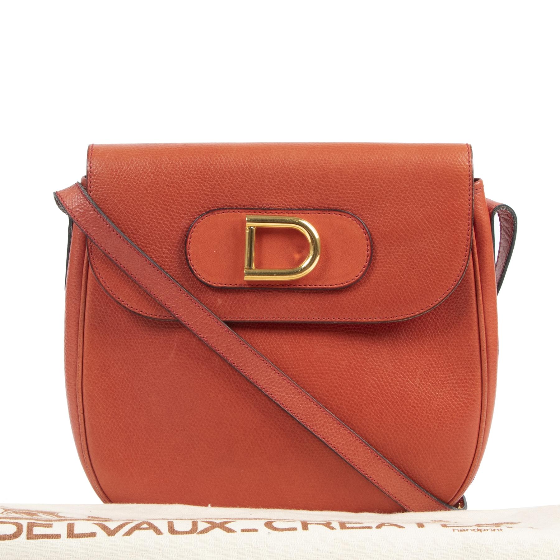 Delvaux Coral D Crossbody Bag