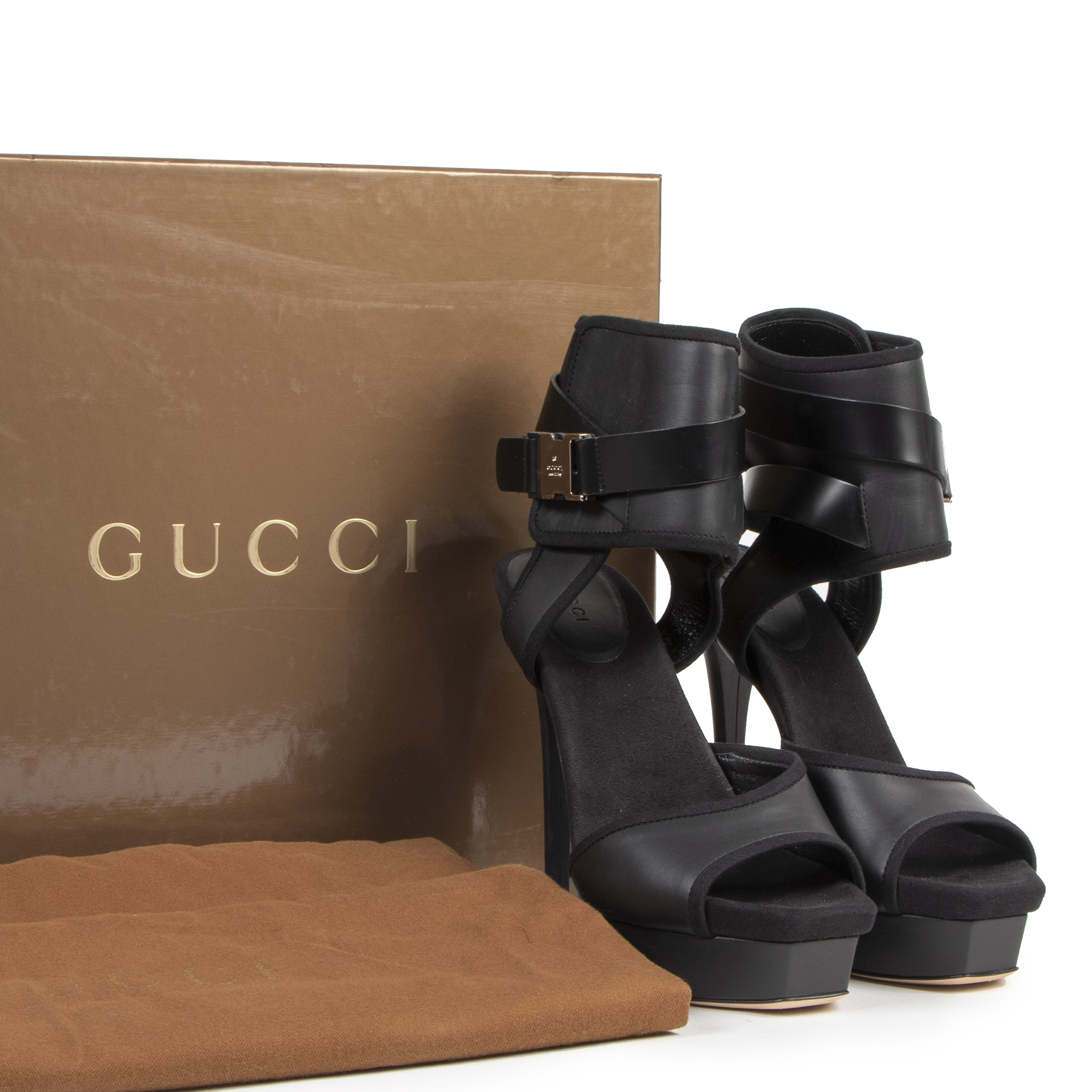 Are you looking for an authentic Gucci Babylon Stiletto Heels - Size 37,5?