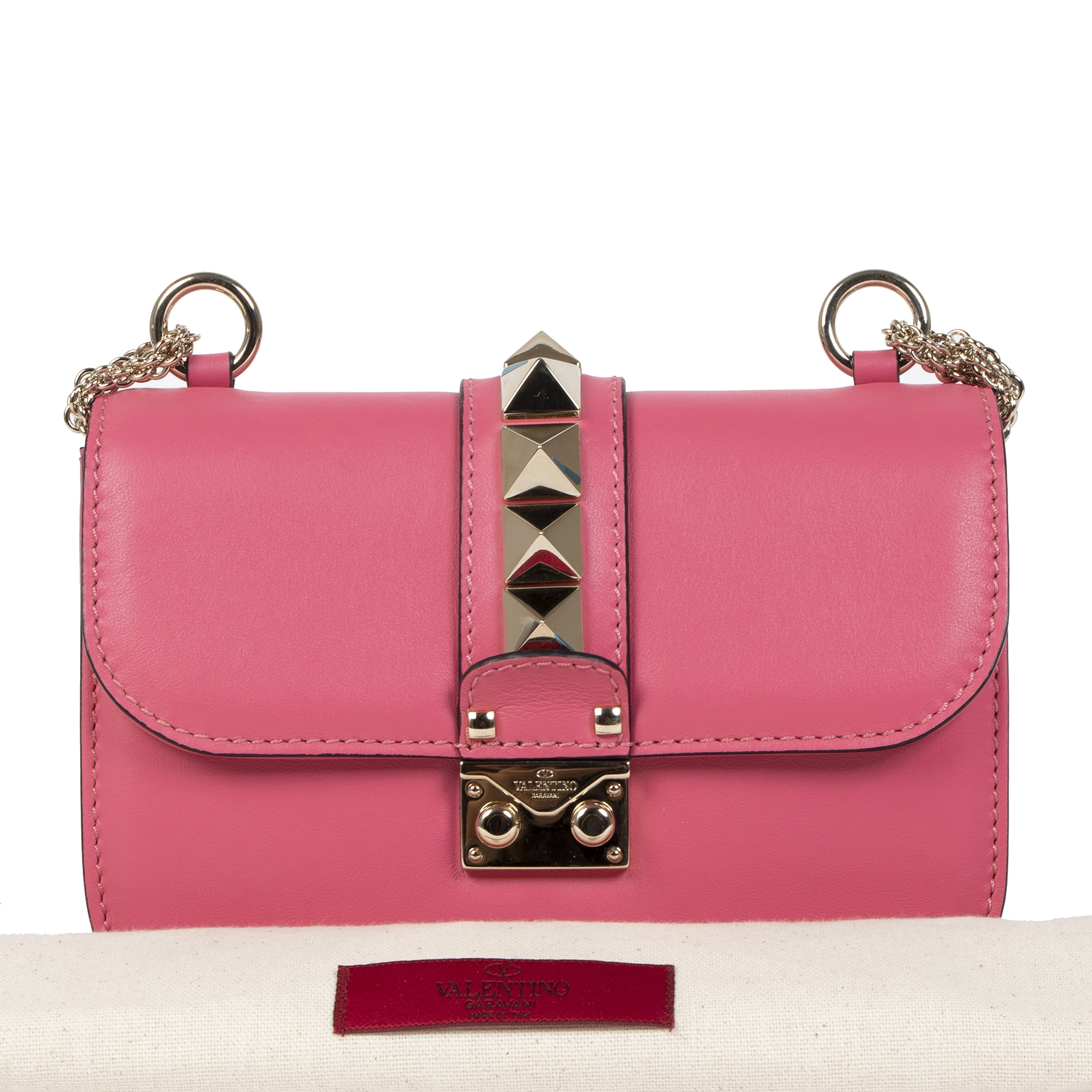 Valentino Small Glam Lock Bag