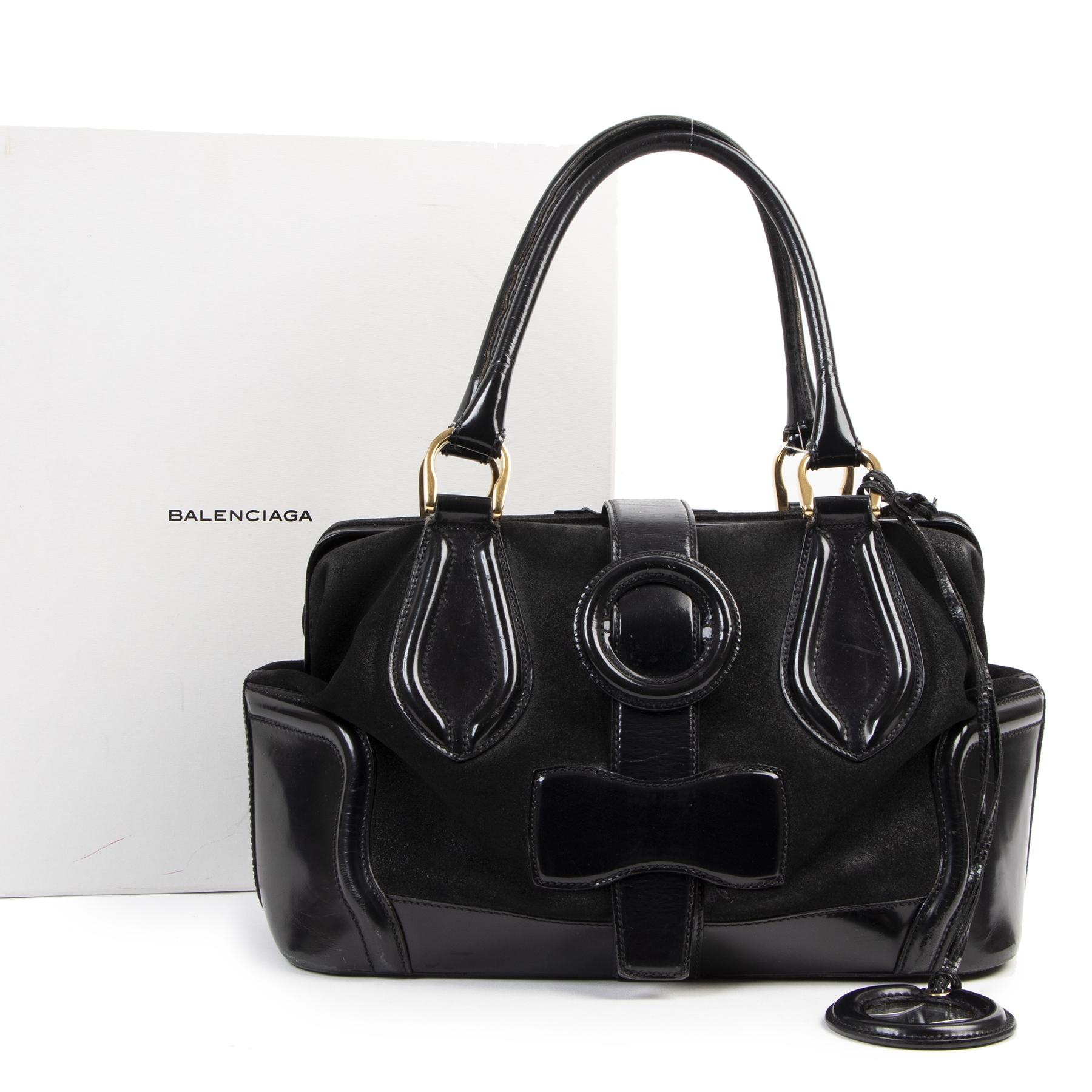 Balenciaga Black Doctor Bag aan de beste prijs bij Labellov tweedehands luxe