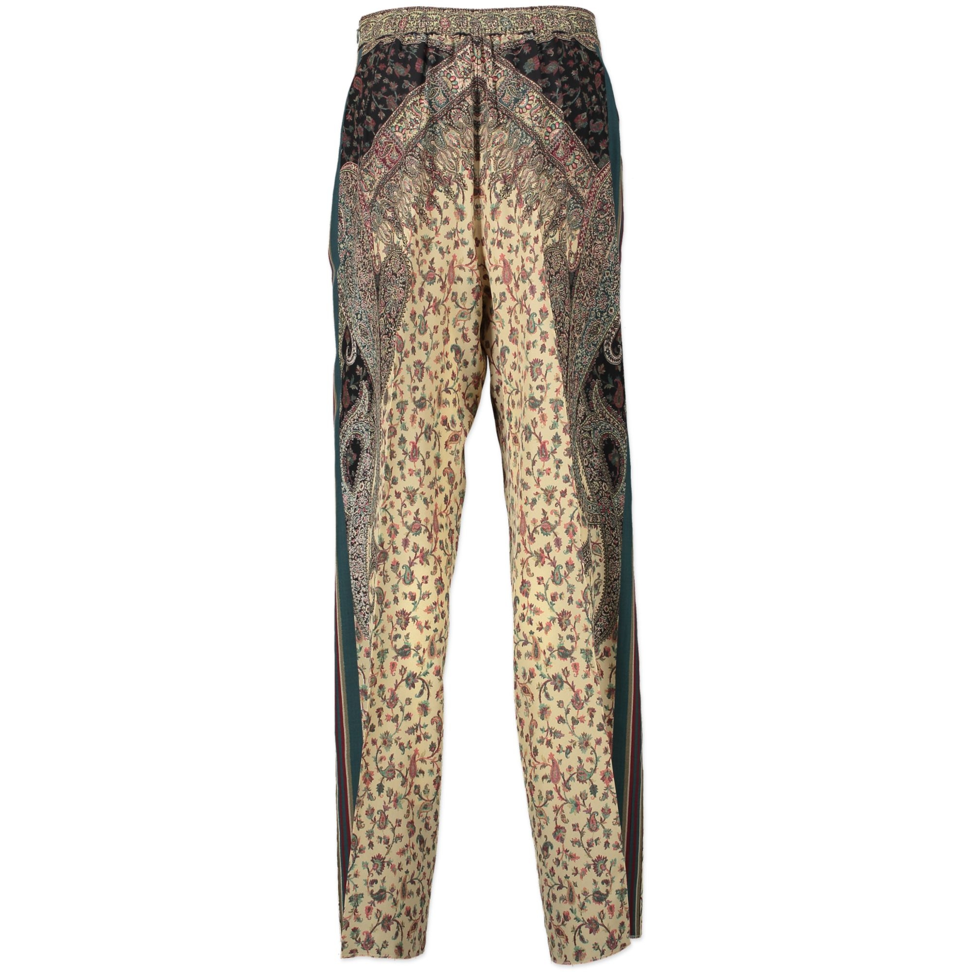 Etro Multicolor Silk Trousers - size IT44 - for the best price at labellov luxury