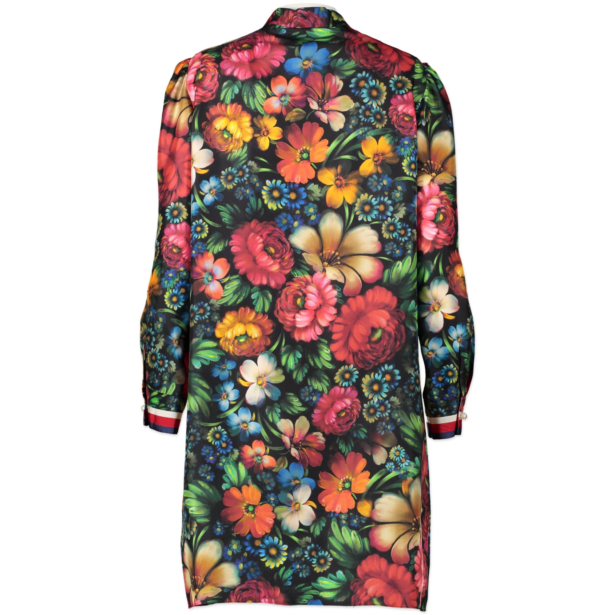 Gucci Floral Silk Shirt Dress - size IT40 pour le meilleur prix chez Labellov à Anvers