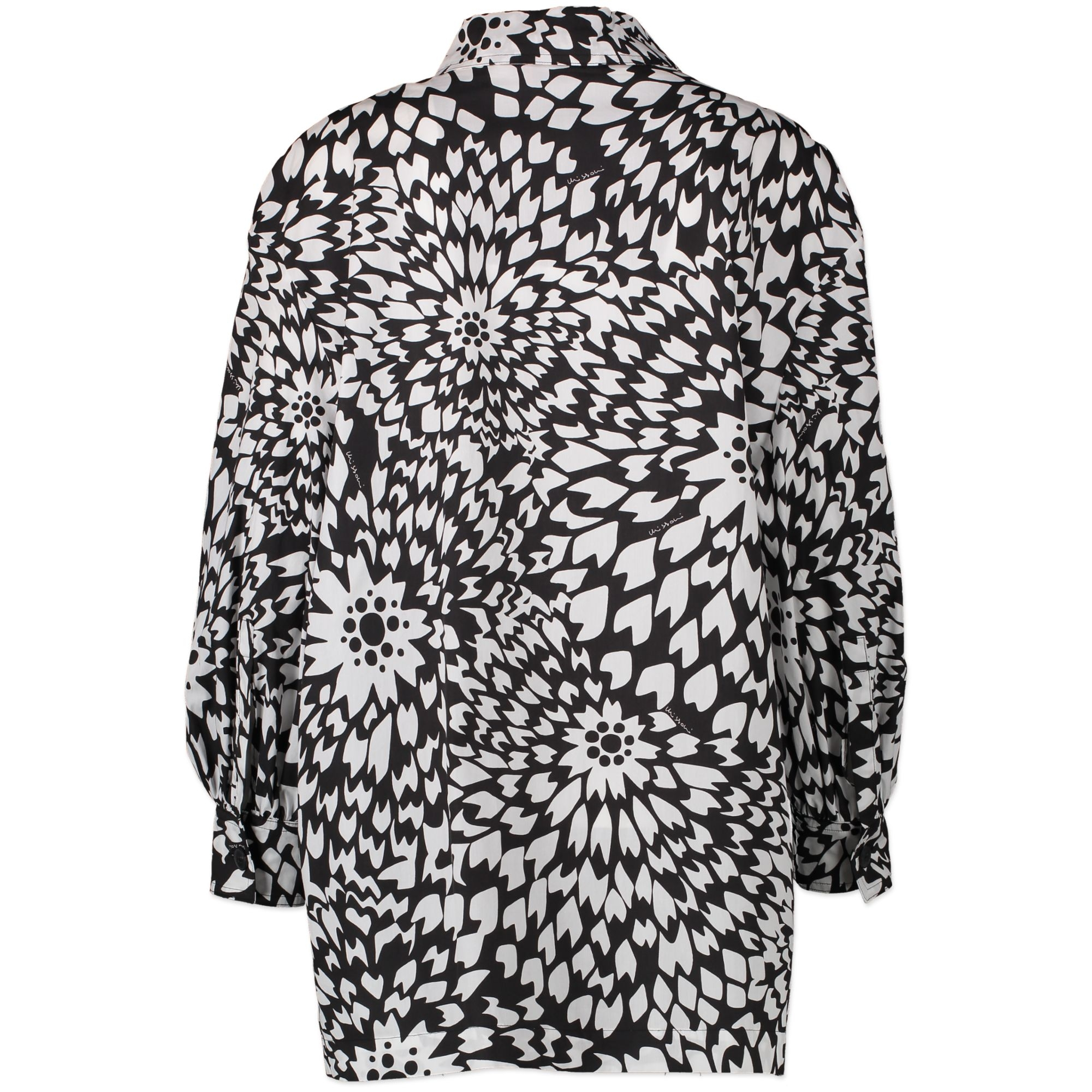 Missoni Black and White Pattern Blouse - Size IT 44