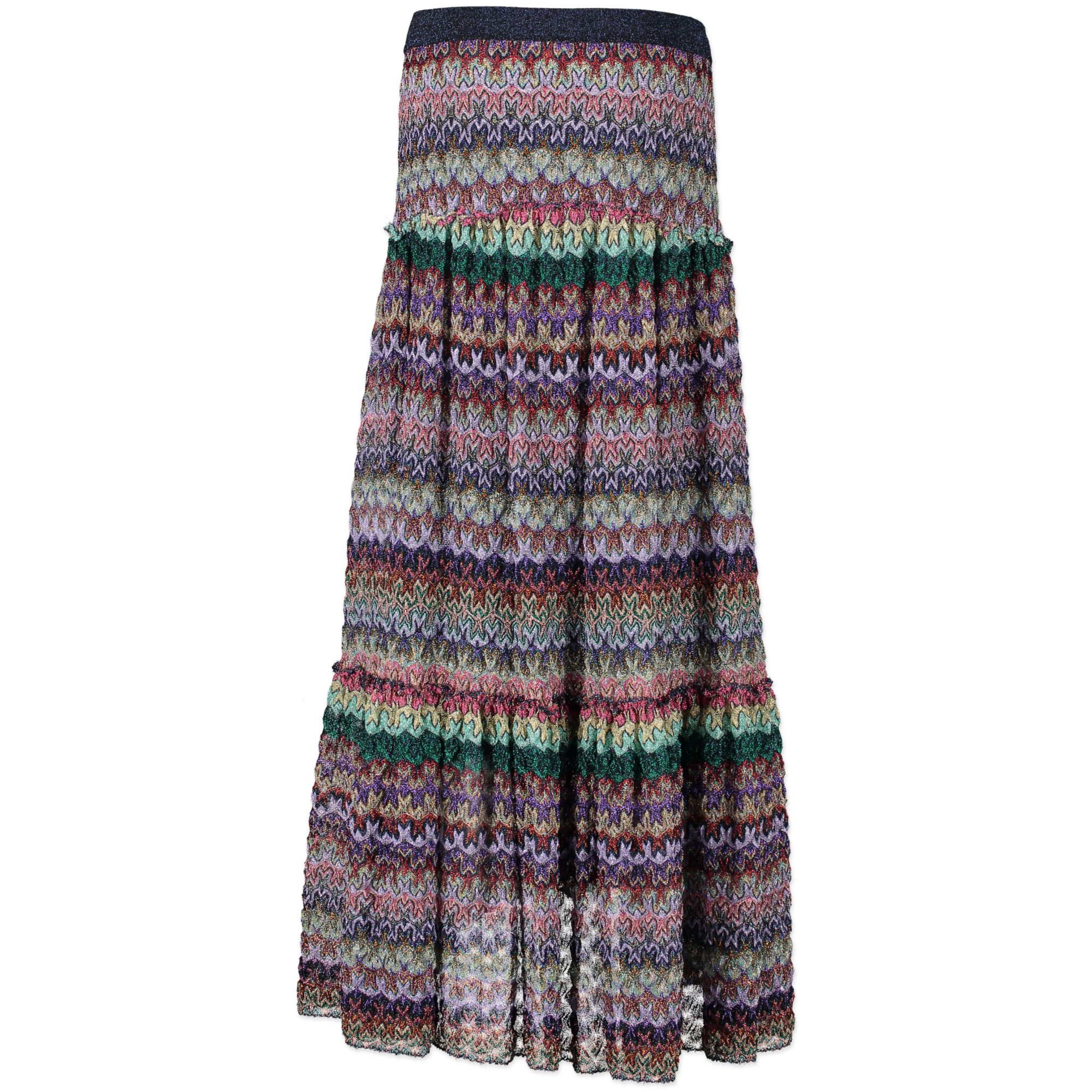 1801 Missoni Ruffle Skirt