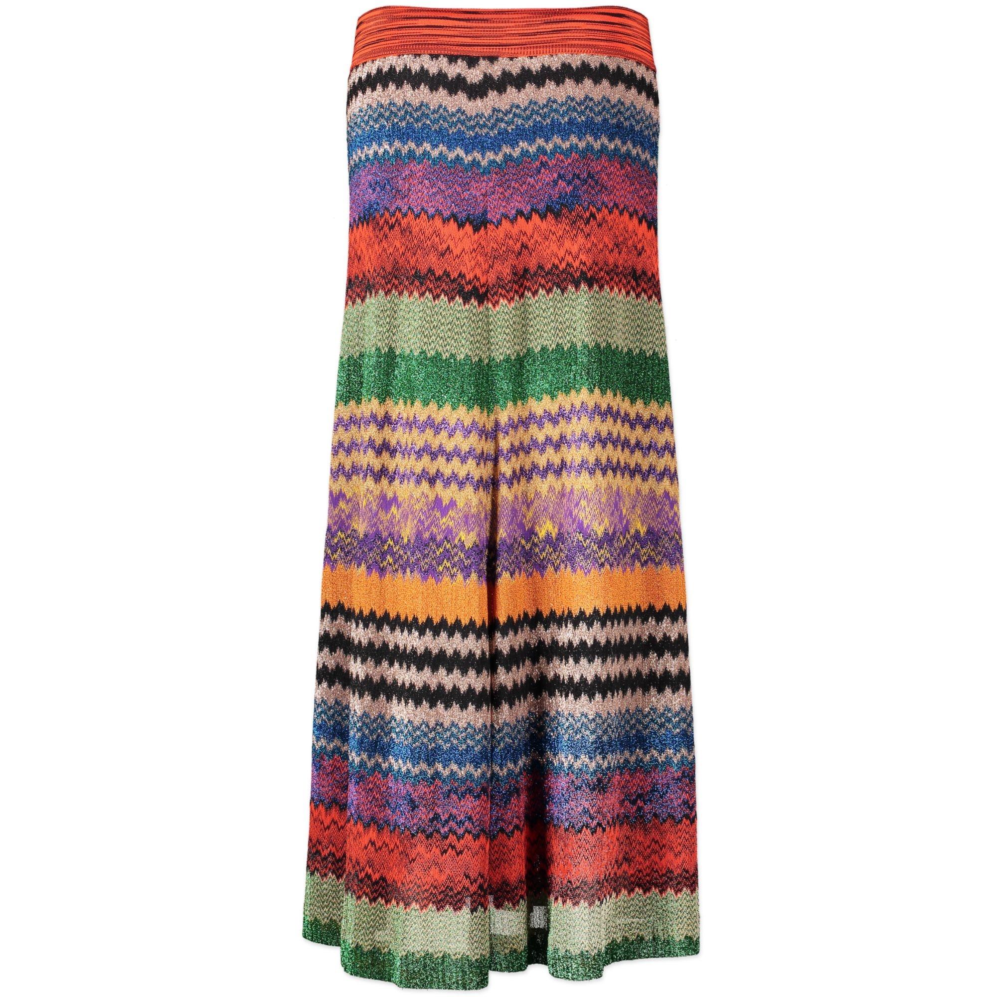 Missoni Multicolor Maxi Skirt - Size IT44 - pour le meilleur prix chez Labellov à Anvers
