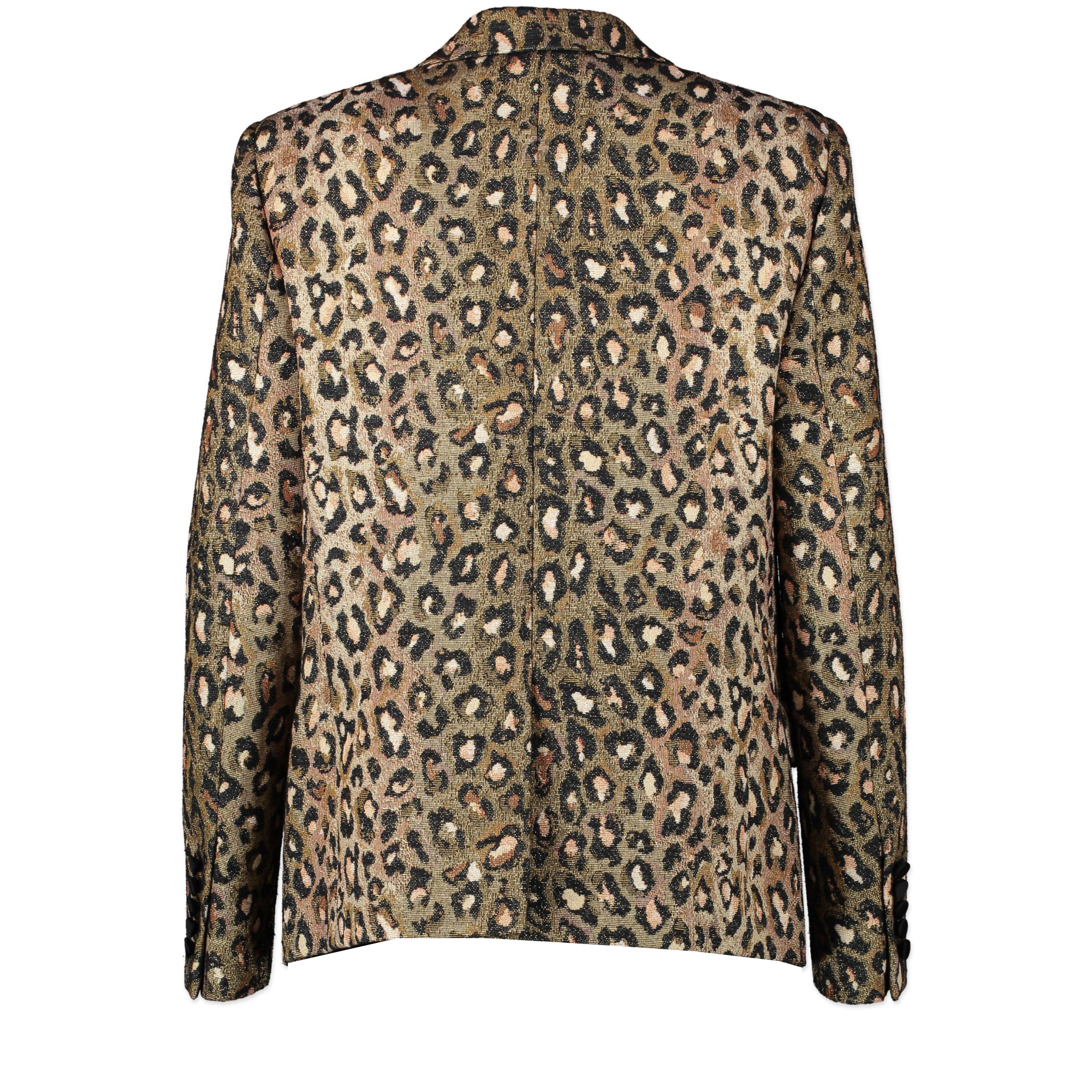 Saint Laurent Leopard Blazer - Size FR 40 for the best price at Labellov secondhand