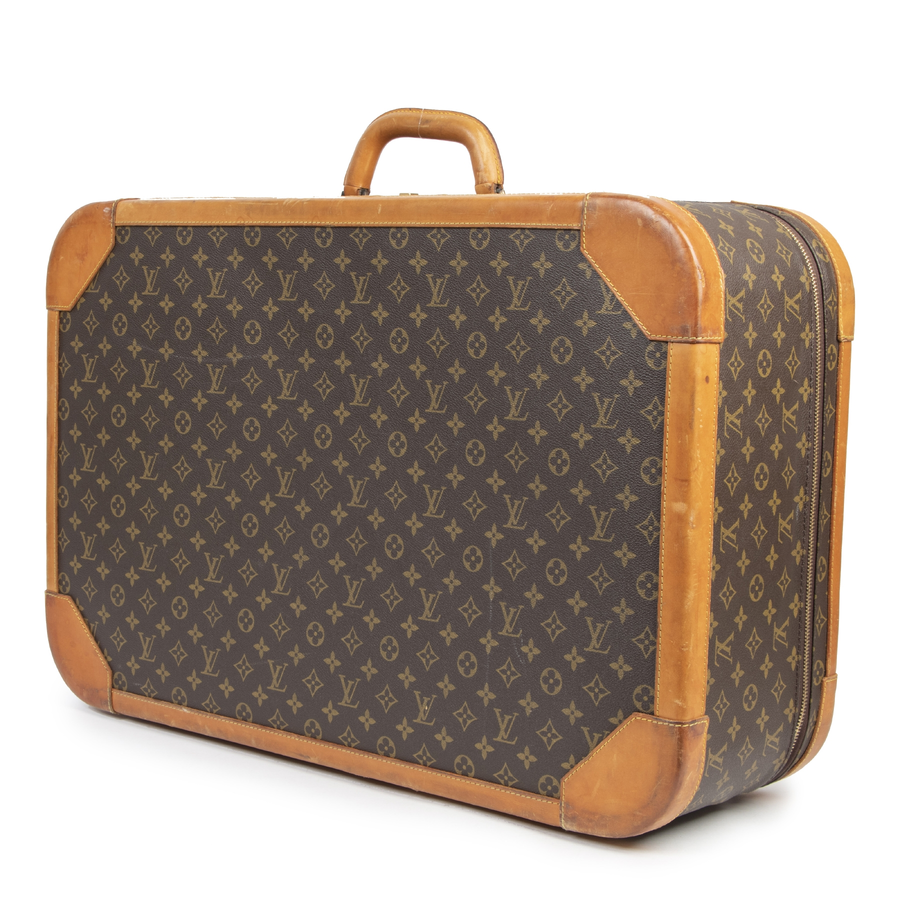 Authentieke tweedehands vintage Louis Vuitton Monogram Stratos 70 koop online webshop LabelLOV
