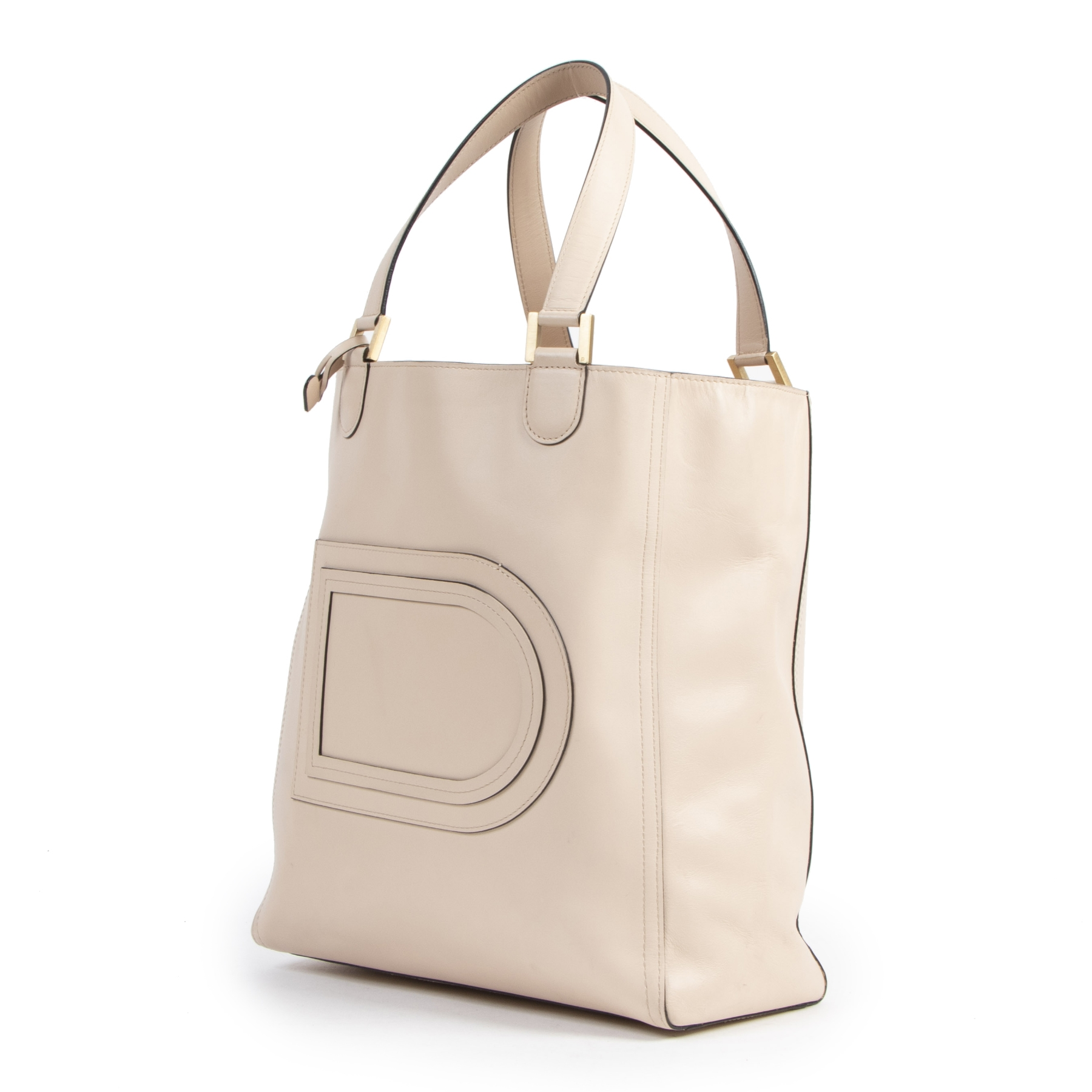 Delvaux Blush Pink Tote Bag