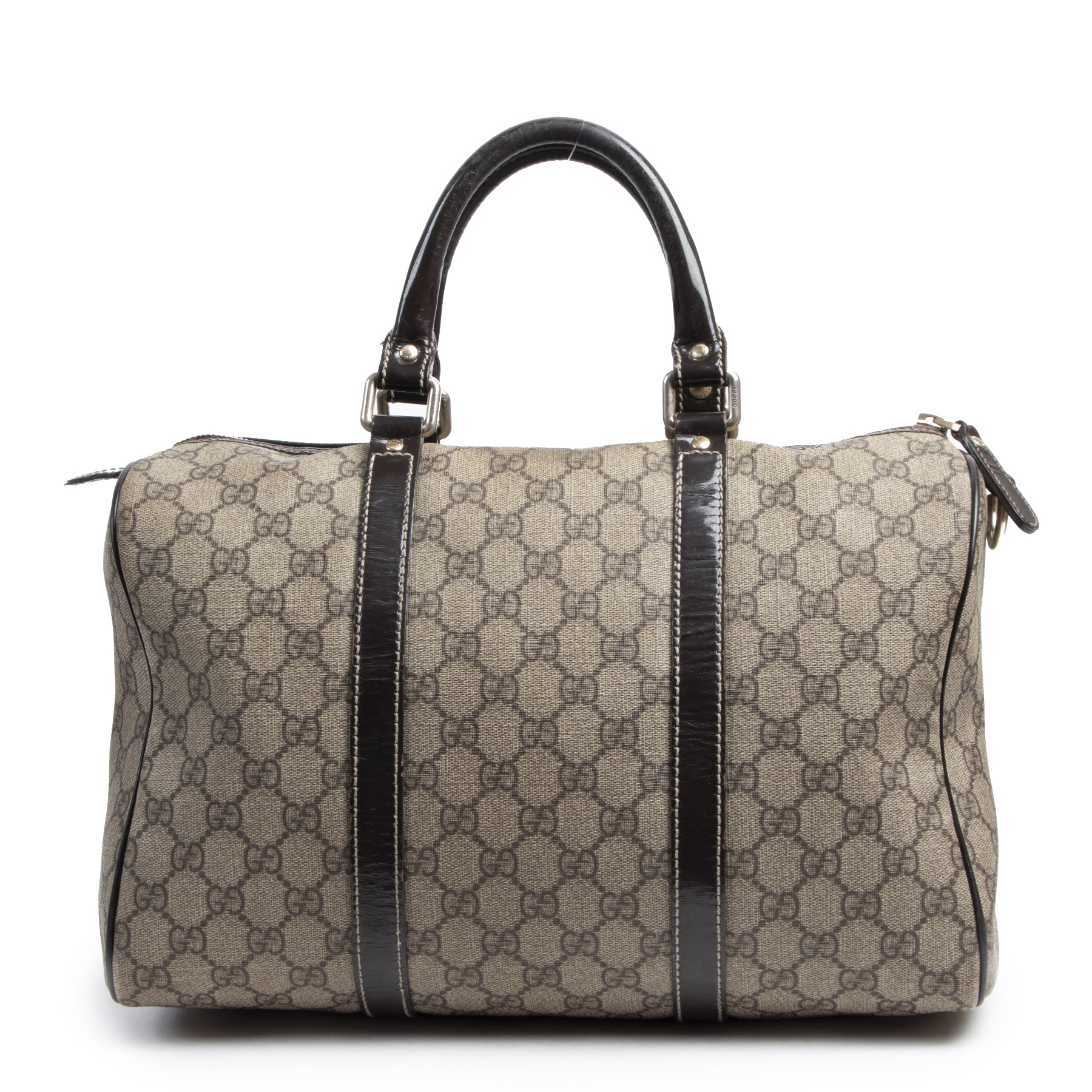 acheter en ligne seconde main Gucci GG Monogram Boston Bag