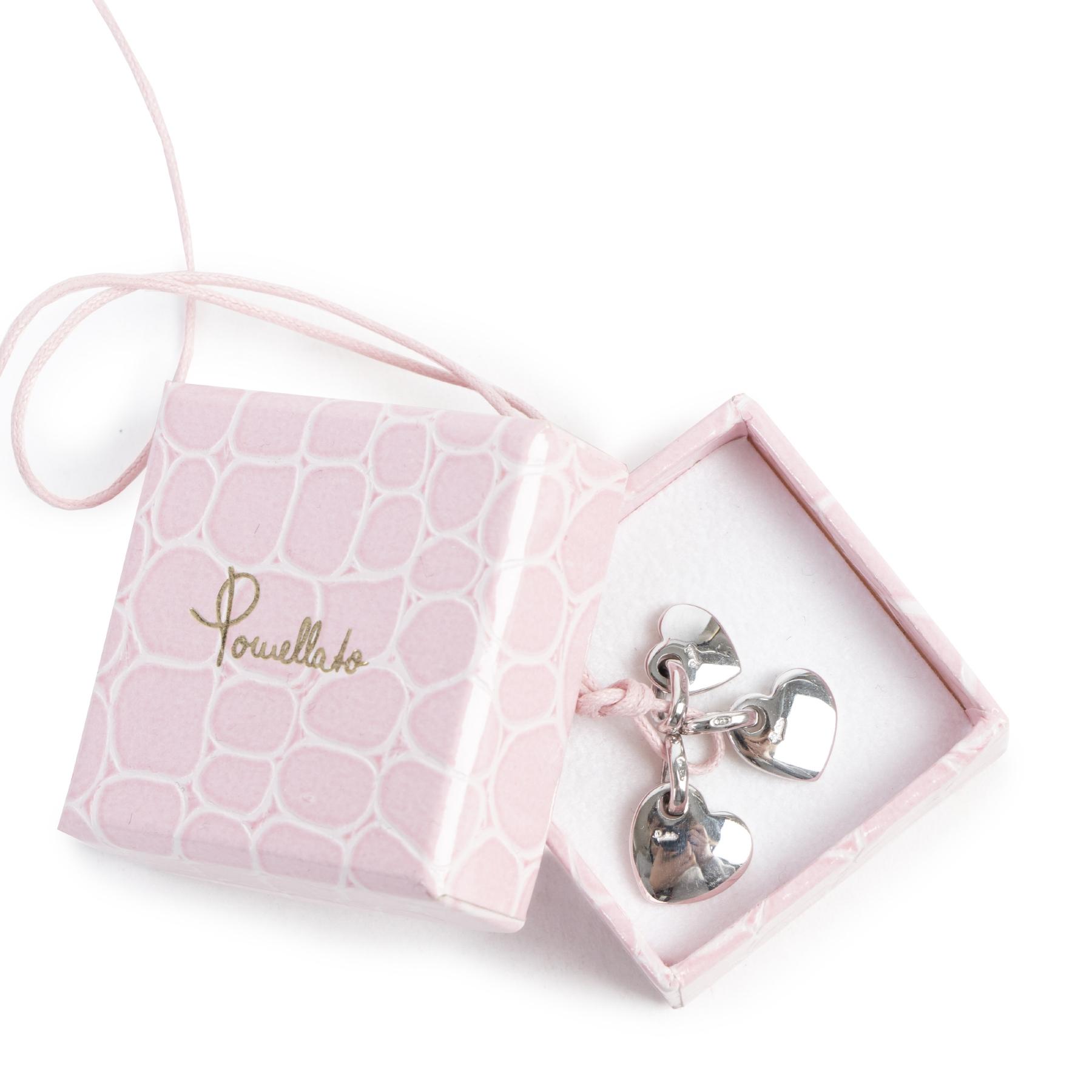 acheter en ligne seconde main Pomellato Silver Heart Pendant Necklace