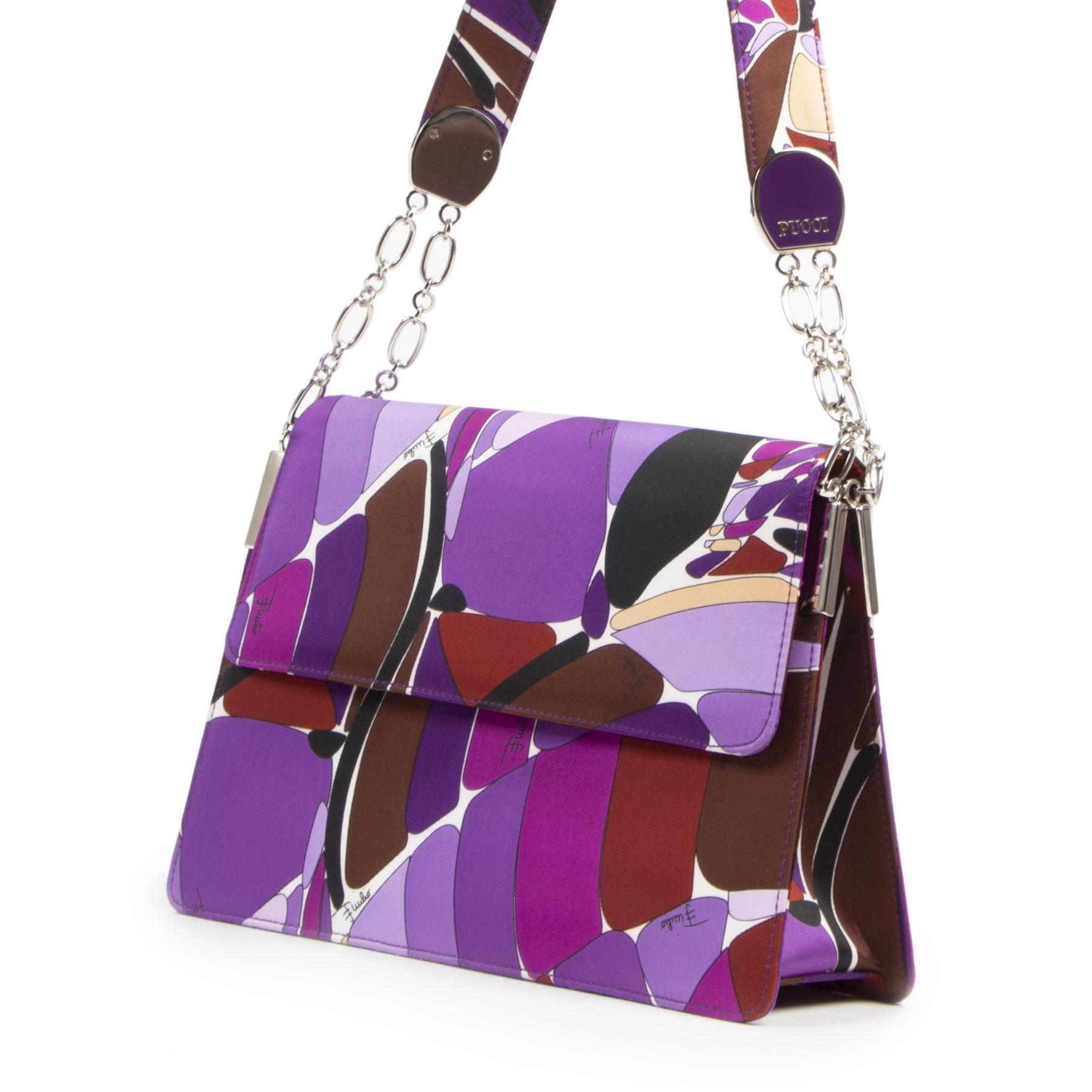 Pucci Silk Evening Bag