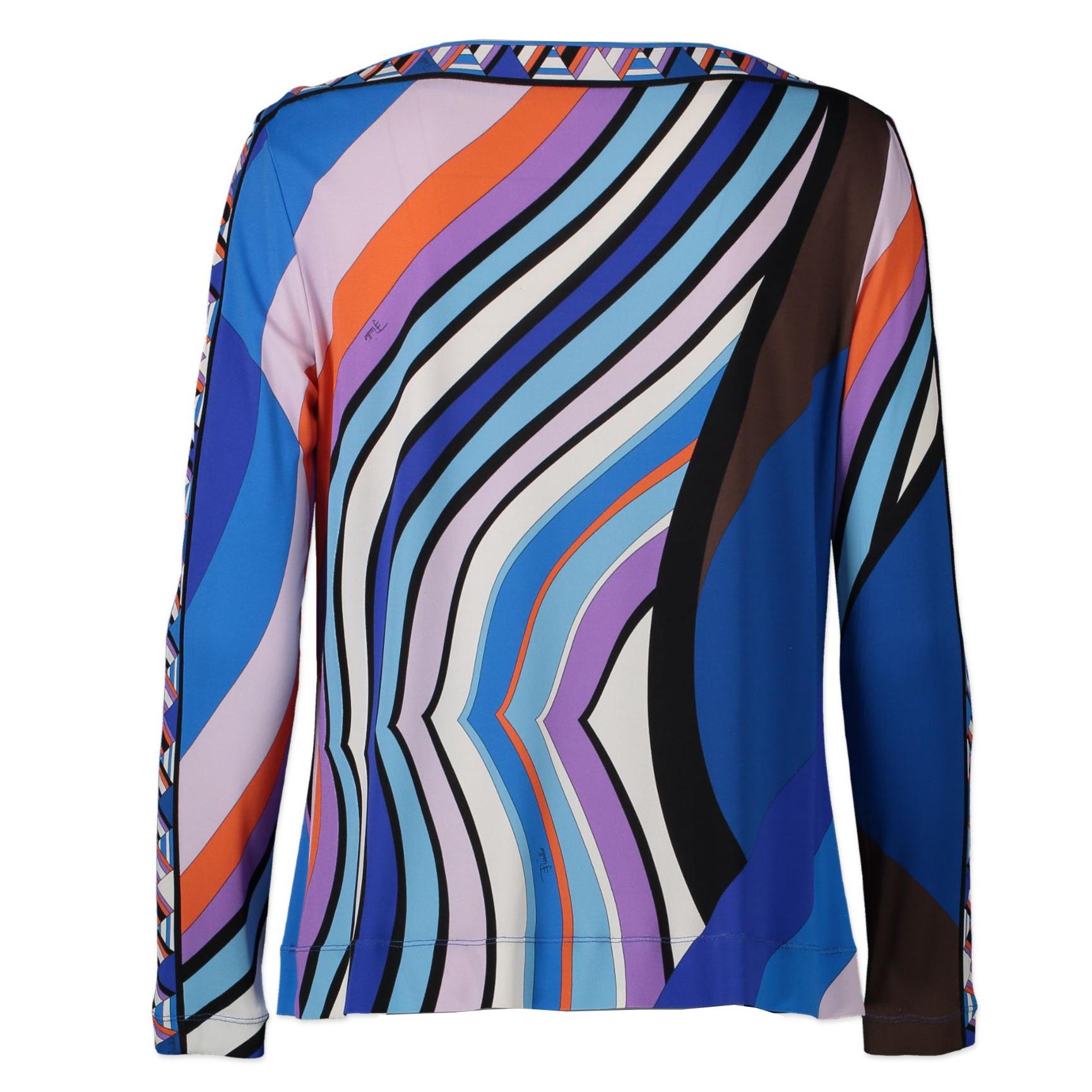Emilio Pucci Multicolor Fuilio Top - Size S - kopen en verkopen online