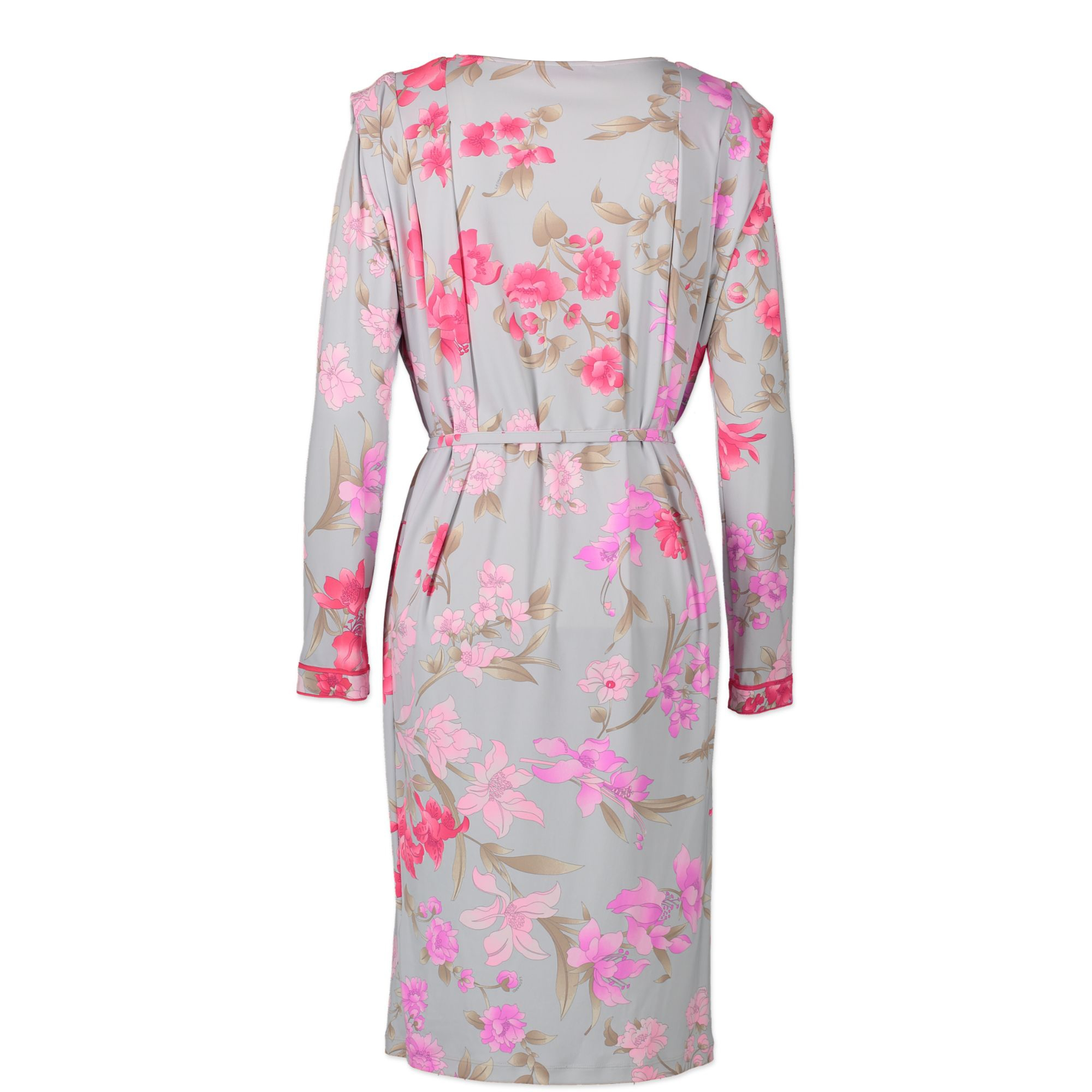 Leonard Fuchsia Floral Dress - Size 44 - for the best price at Labellov secondhand designer bags