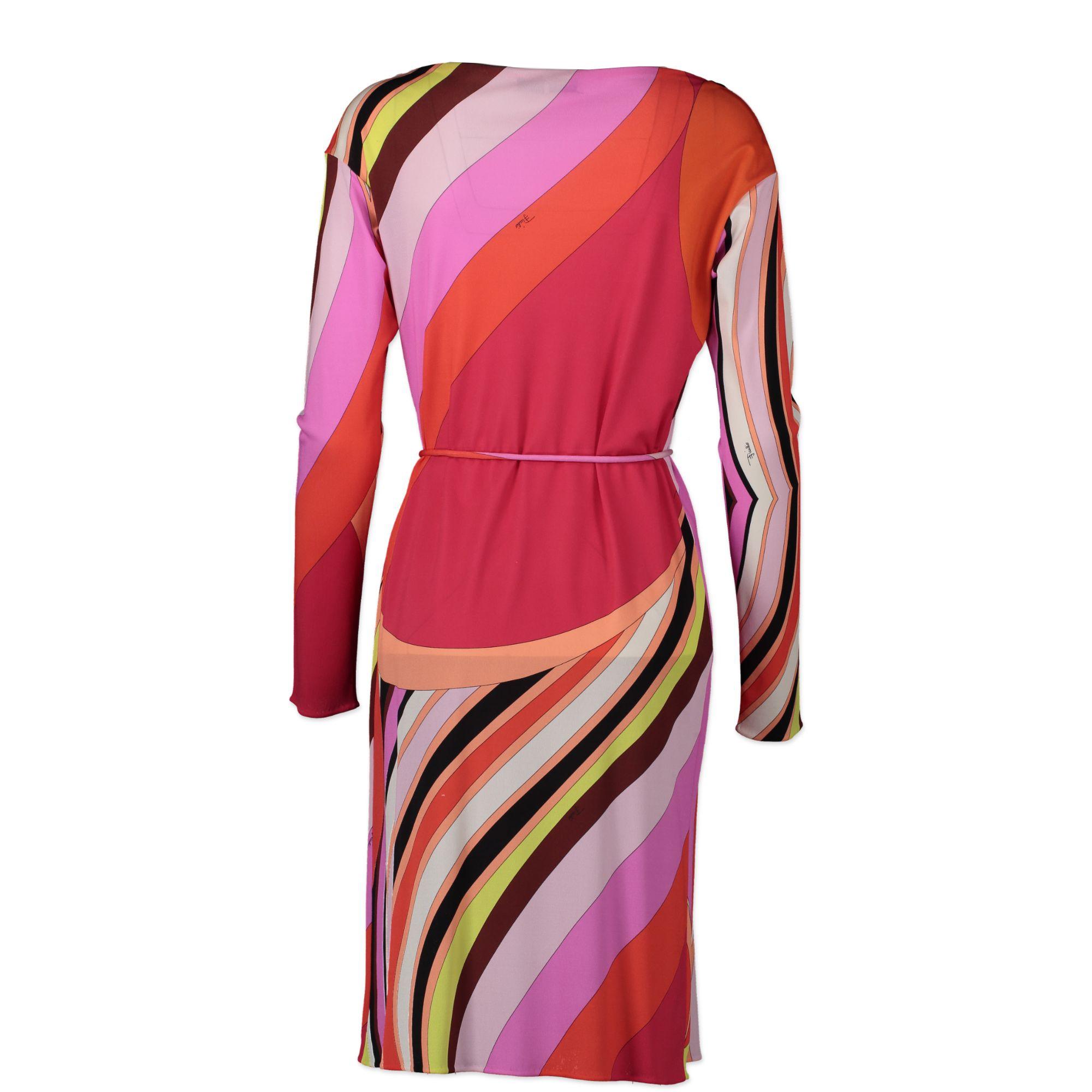 Emilio Pucci Multicolor Fiulio Dress pour le meilleur prix chez Labellov à Anvers