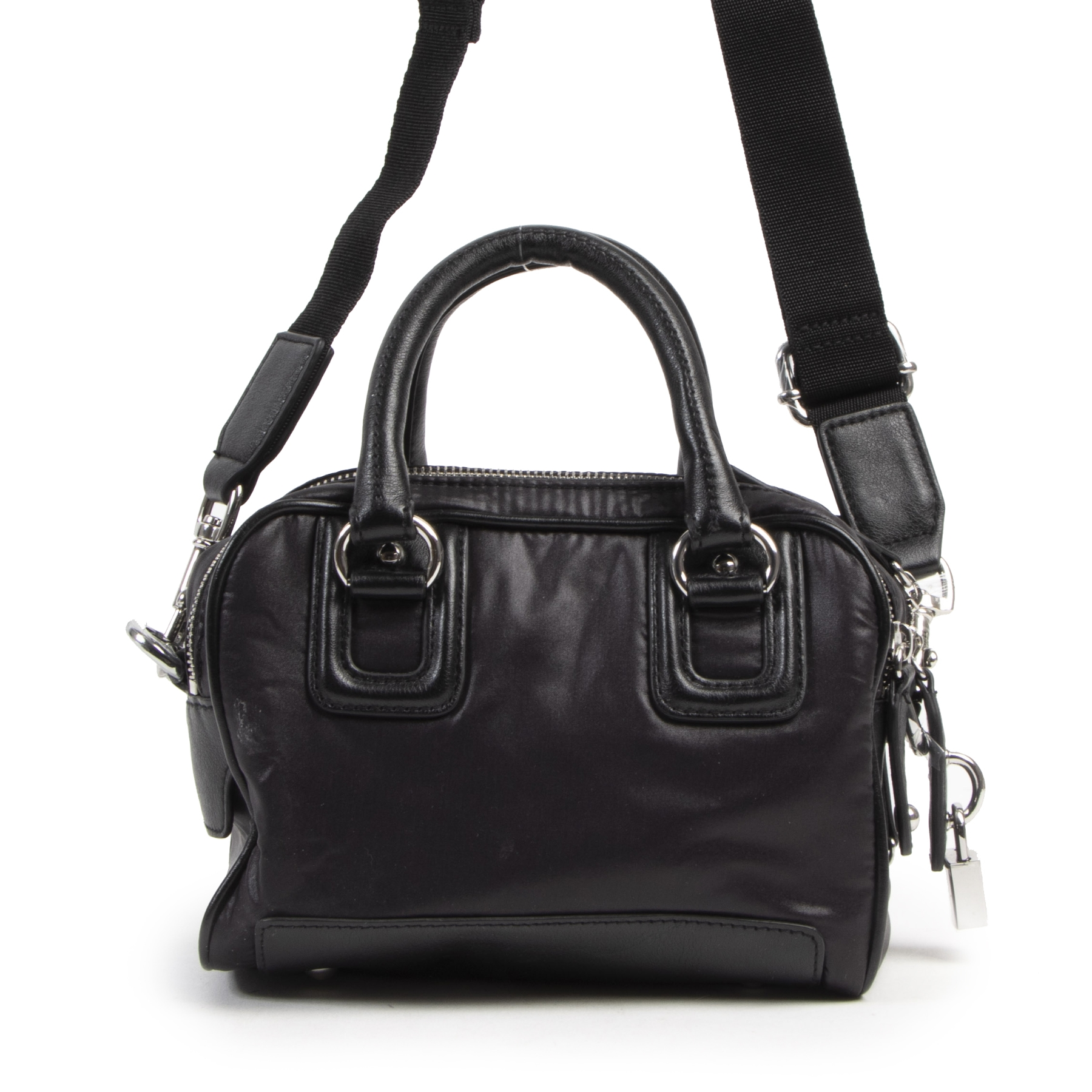 Authentieke Tweedehands Dolce & Gabbana Junior Black Mini Bag juiste prijs veilig online shoppen luxe merken webshop winkelen Antwerpen België mode fashion