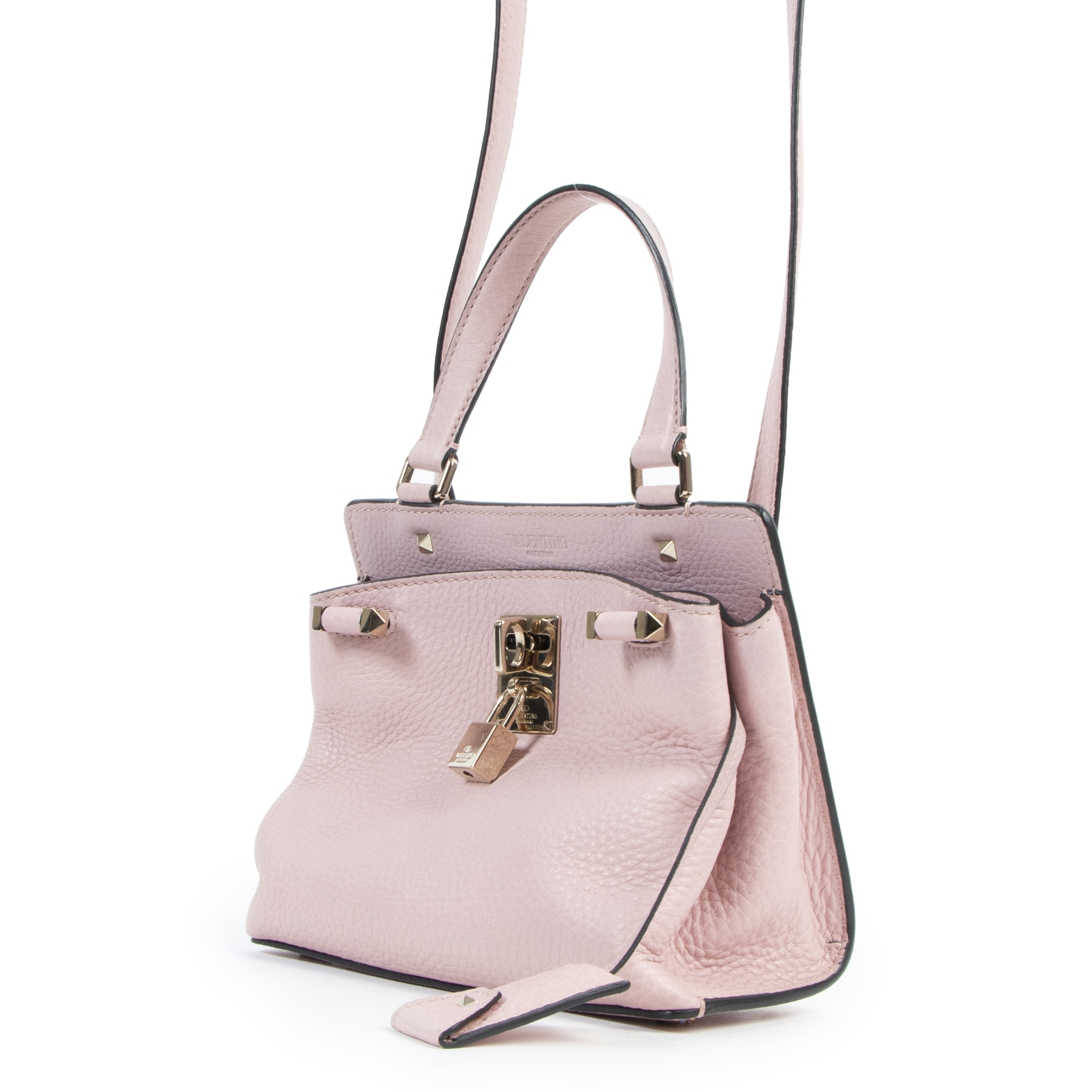 Valentino Pink Leather Mini Bag
