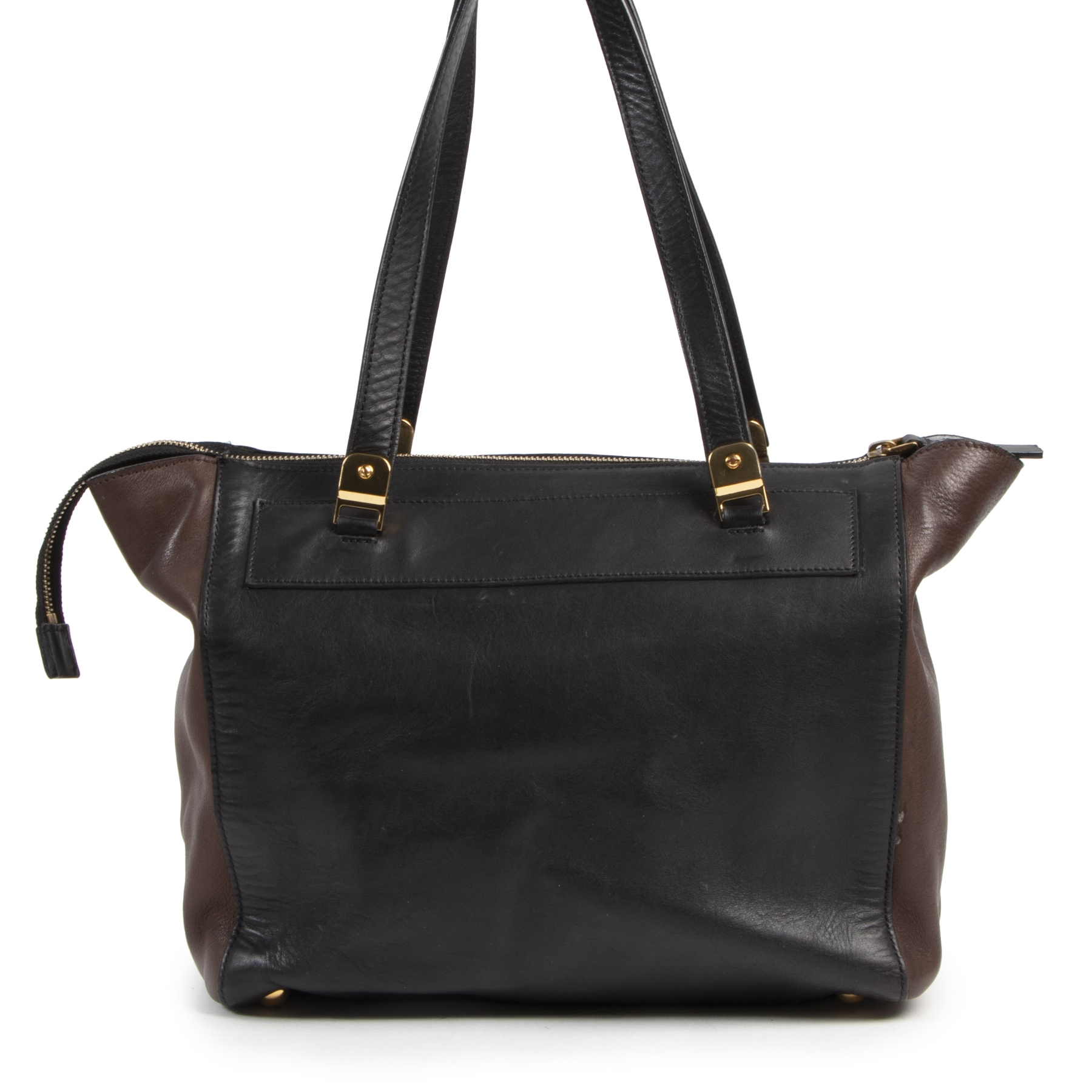 We buy and sell your authentic designer Marni Brown Leather Shoulder Bag