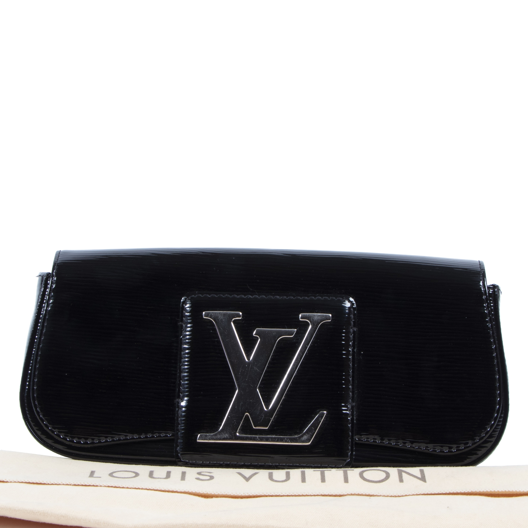 shop safe online Louis Vuitton Black Electric Epi Sobe Clutch